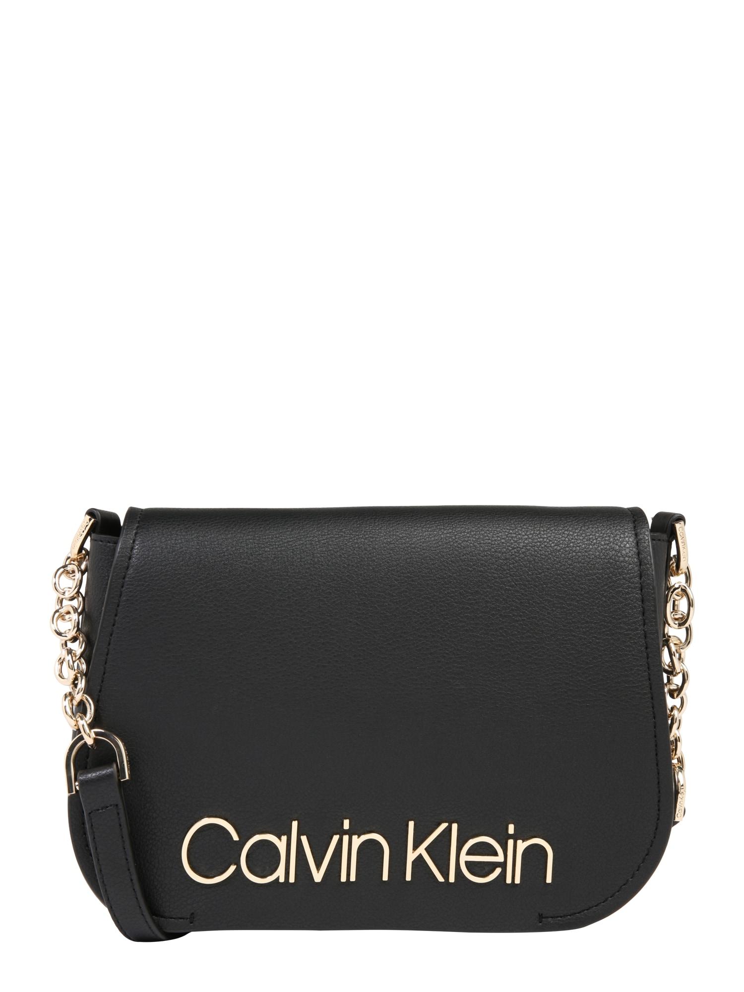 Taška přes rameno DRESSED UP XBODY černá Calvin Klein