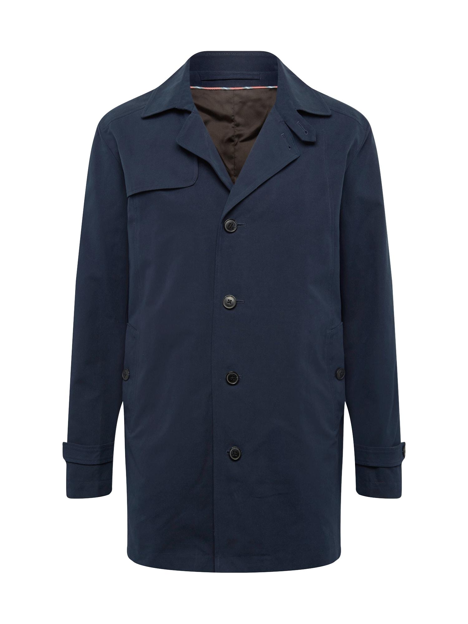 Přechodný kabát Times tmavě modrá SELECTED HOMME