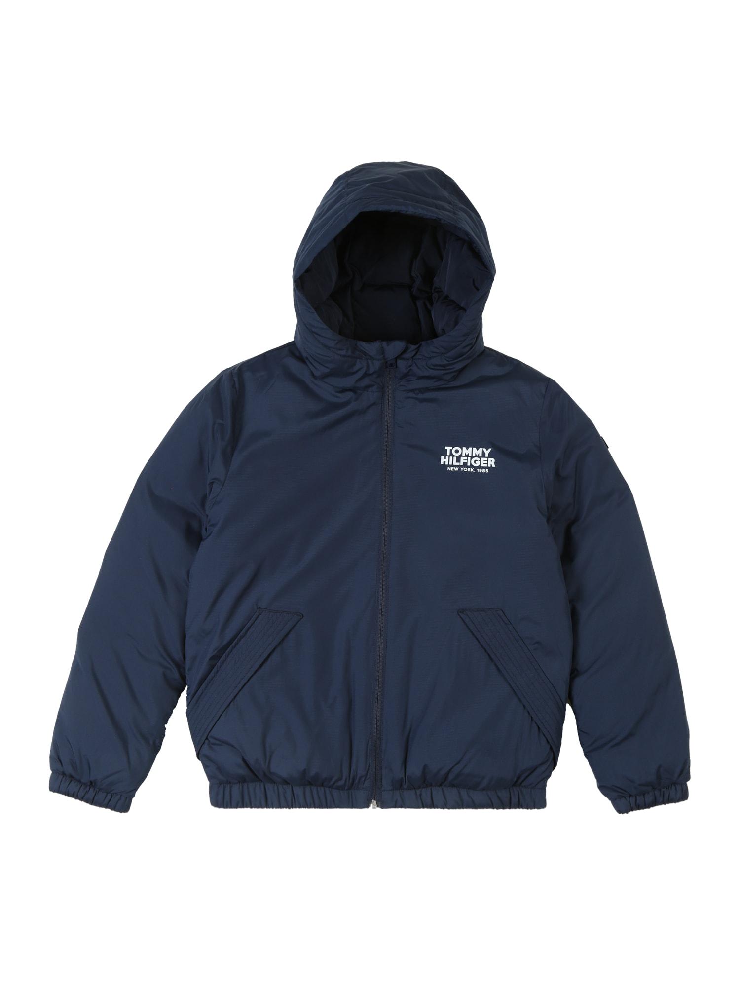 Přechodná bunda DG TJM tmavě modrá TOMMY HILFIGER