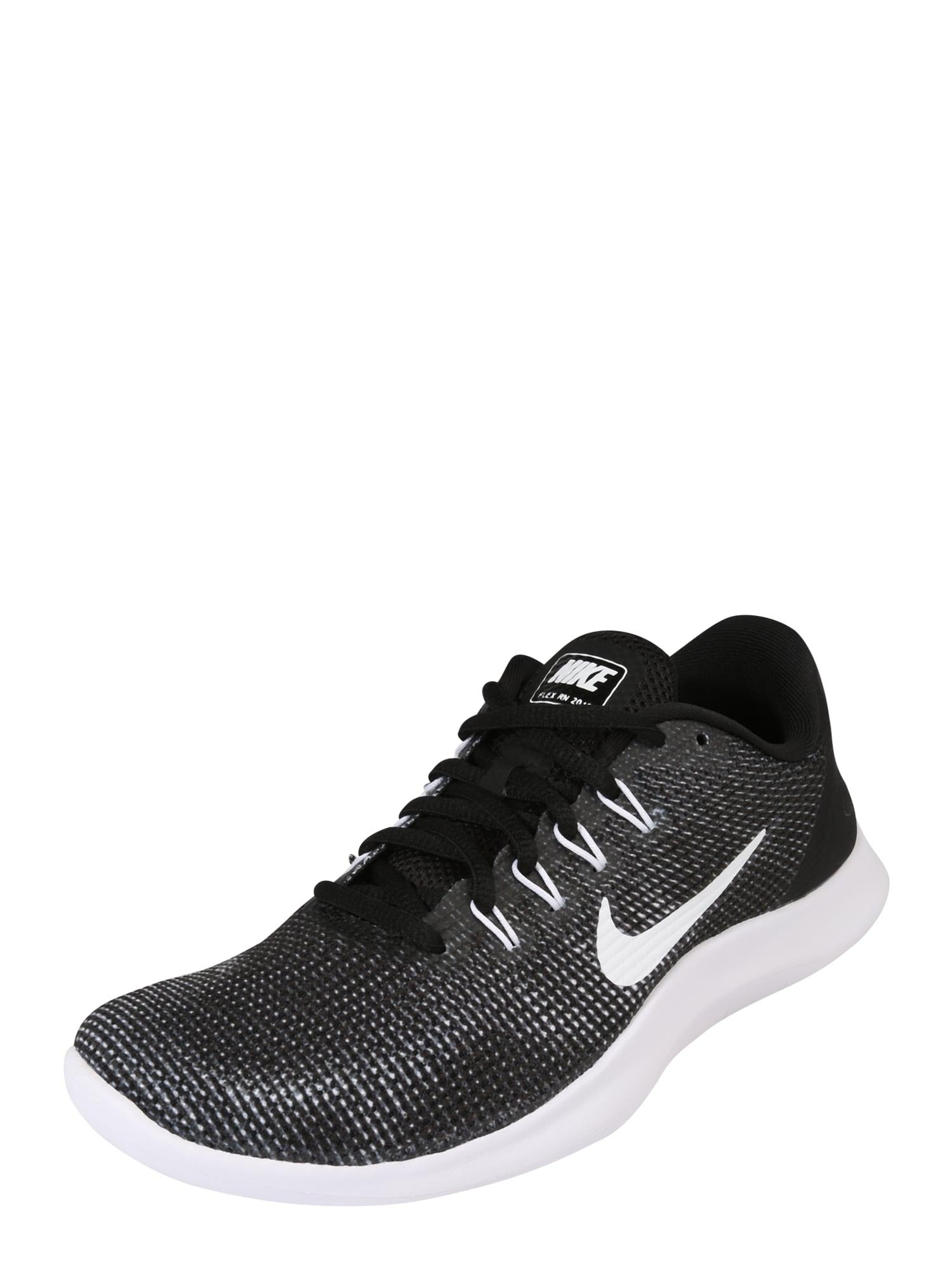 Běžecká obuv Flex RN 2018 světle šedá černá bílá NIKE