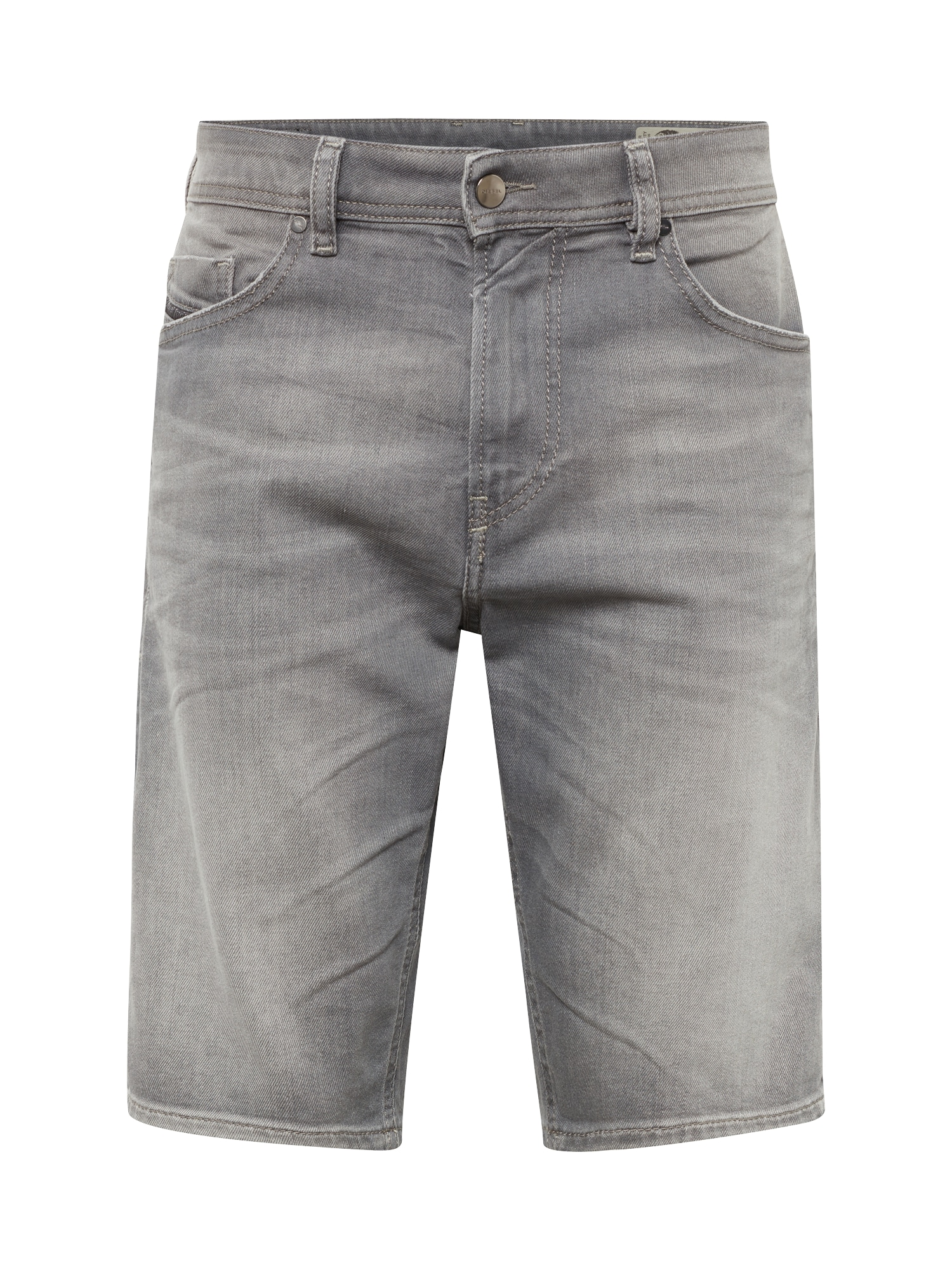 DIESEL Heren Jeans THOSHORT grey denim