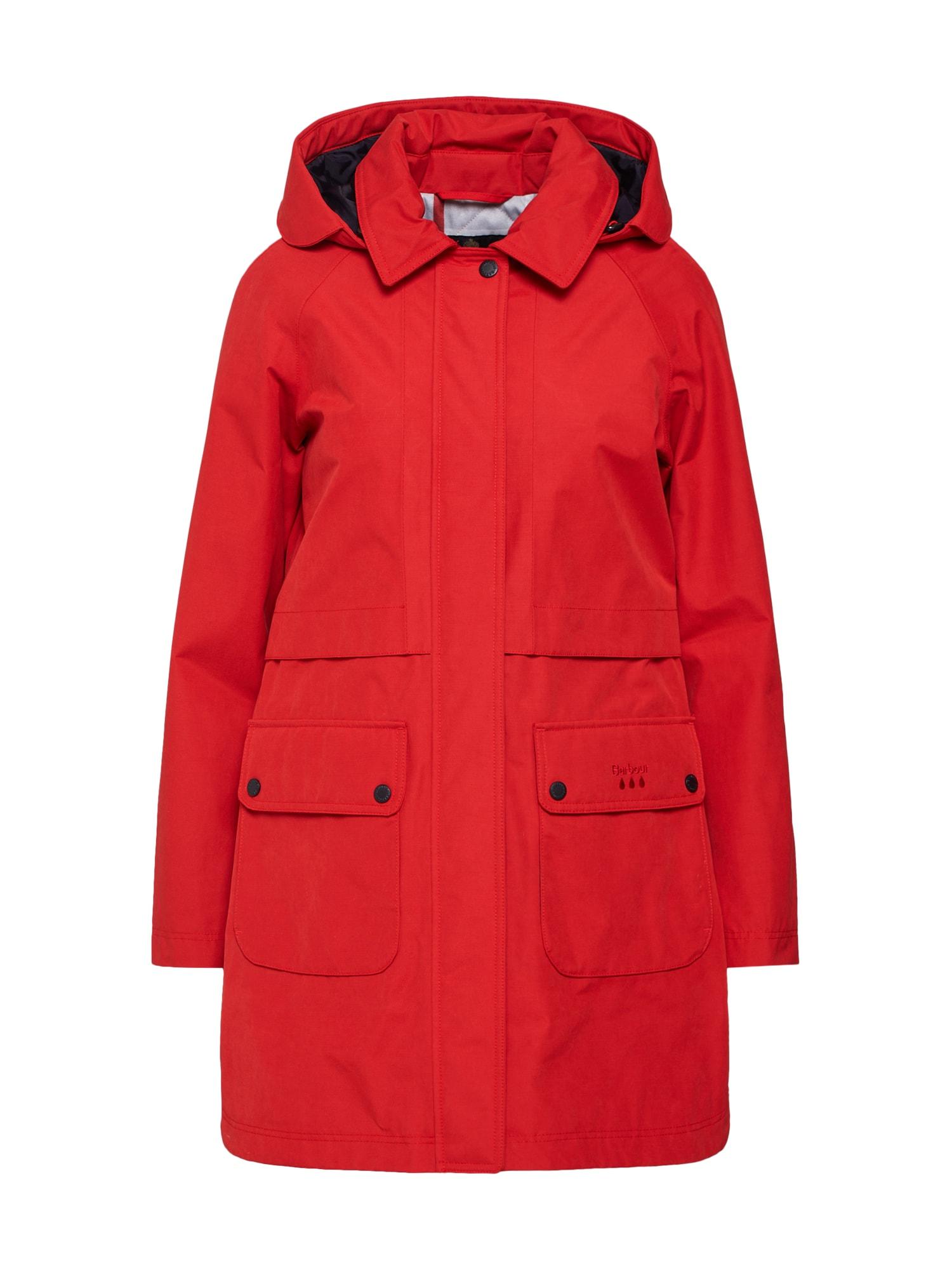 Barbour Prechodná bunda  ohnivo červená