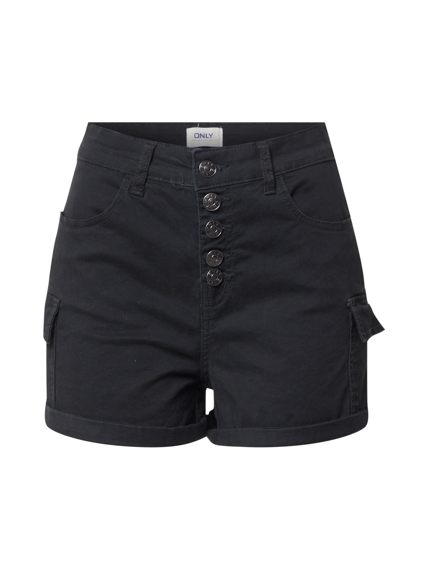 ONLY Kalhoty 'FEDORA'  černá
