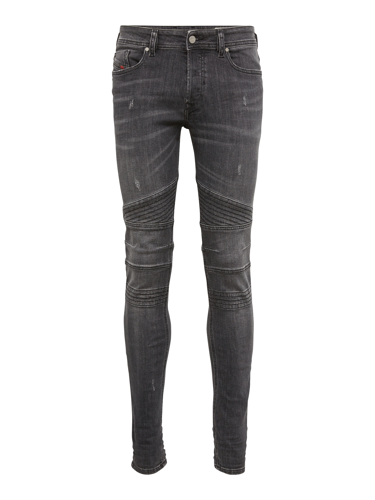 DIESEL Heren Jeans Fourk black denim