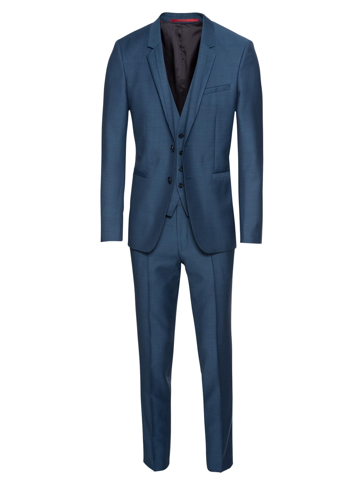 Oblek ArtiHesten183V1 10206379 0 námořnická modř HUGO