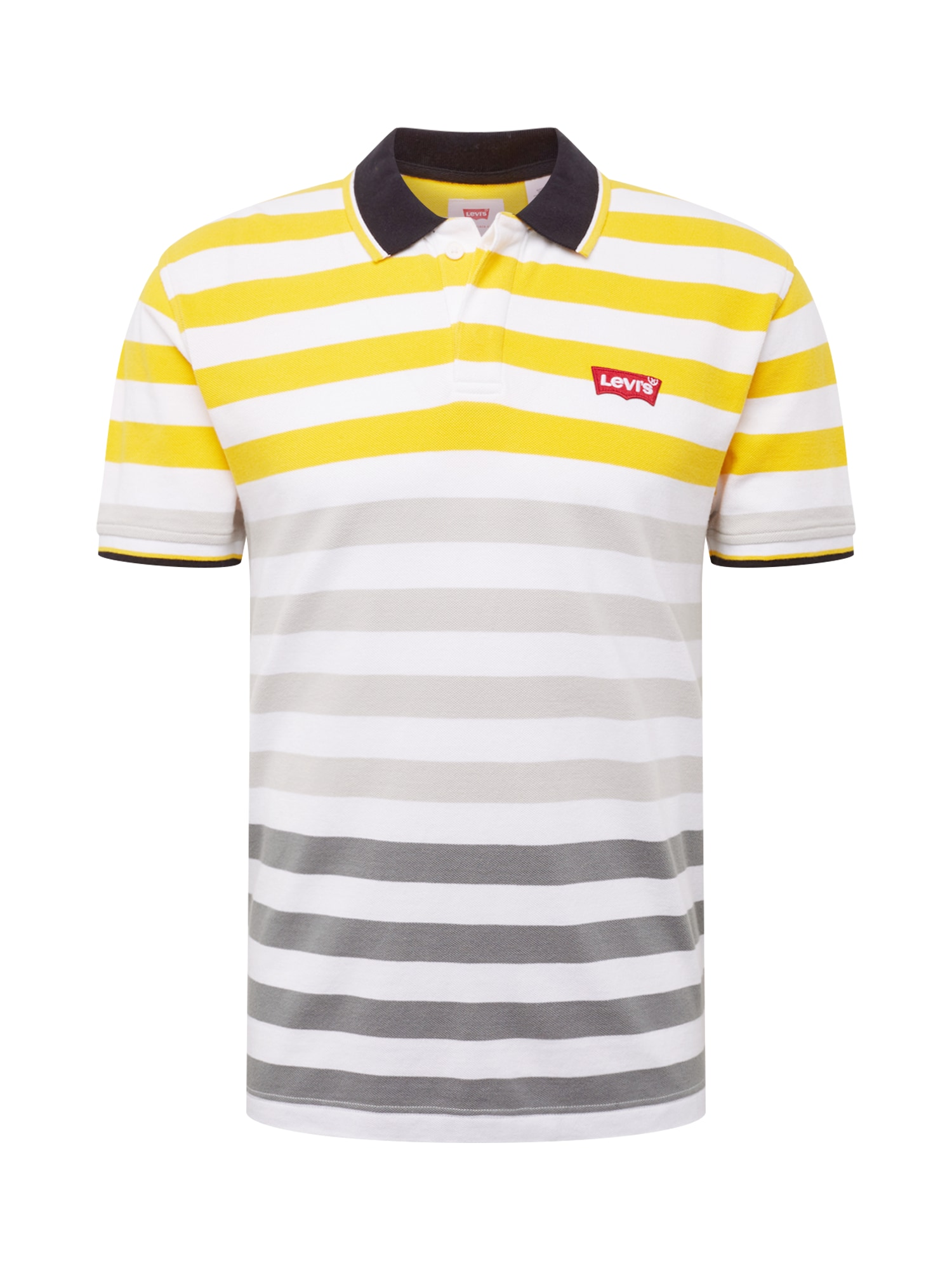LEVIS Tričko žlutá šedá černá bílá LEVI'S
