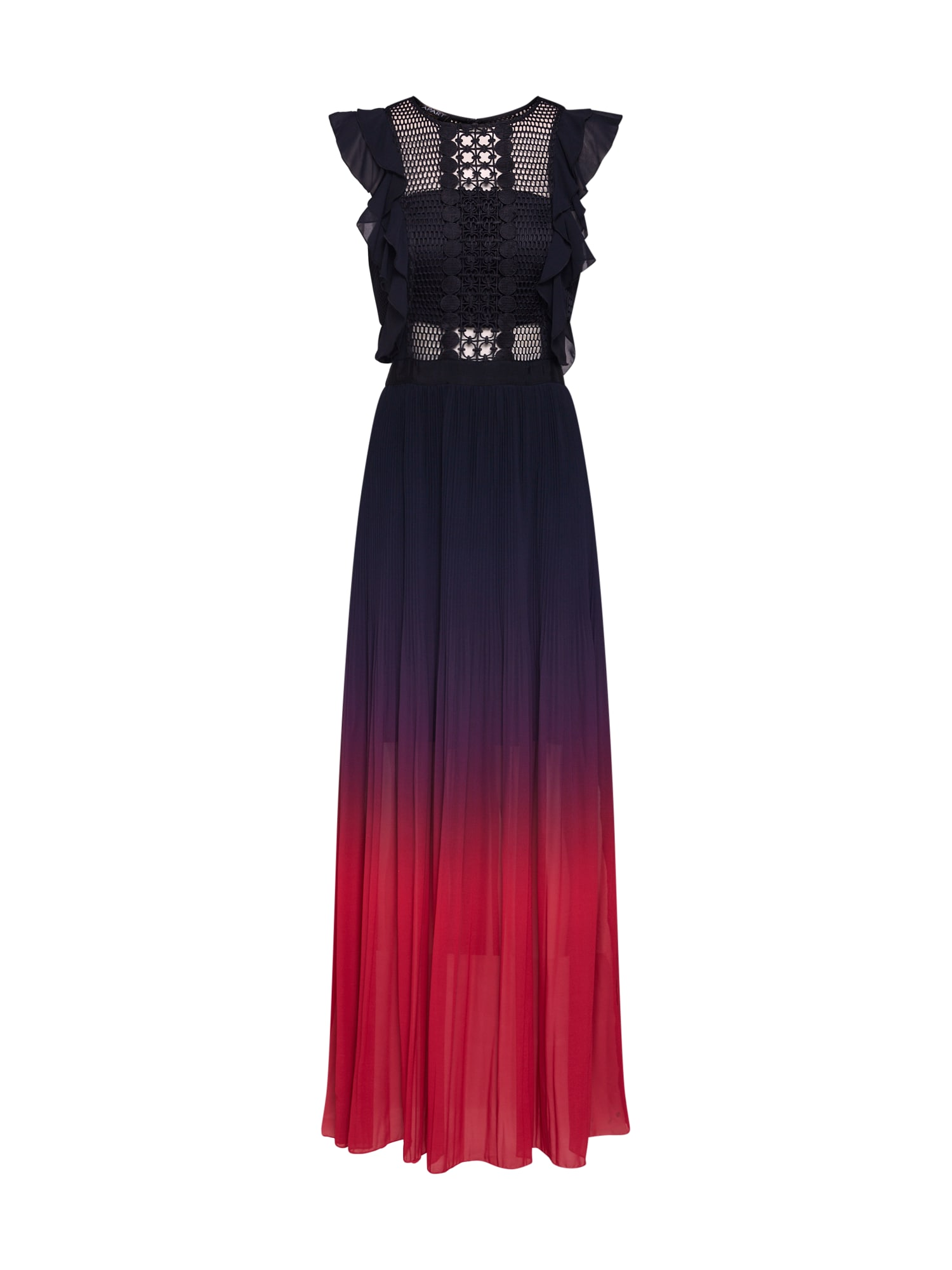 Společenské šaty červená černá APART