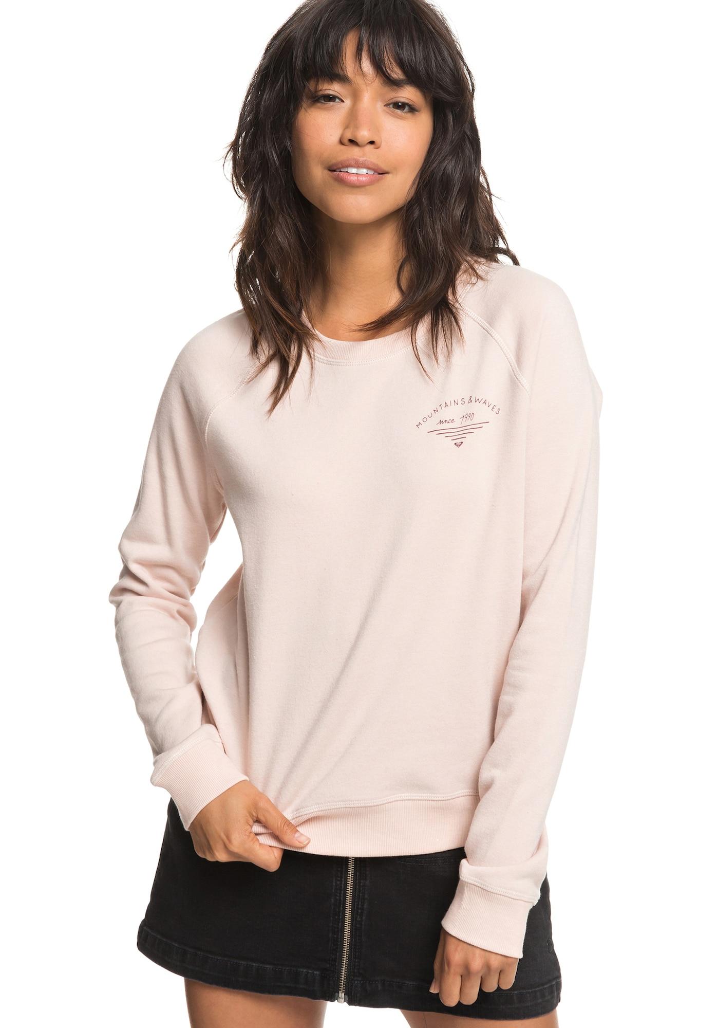 ROXY, Dames Sweatshirt 'Sunset Spell', lichtroze