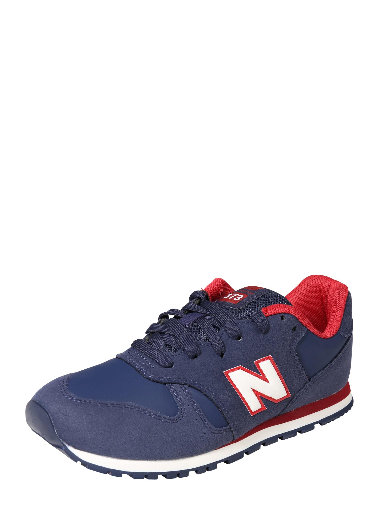 New Balance Tenisky 'KJ373NDY'  námořnická modř / červená