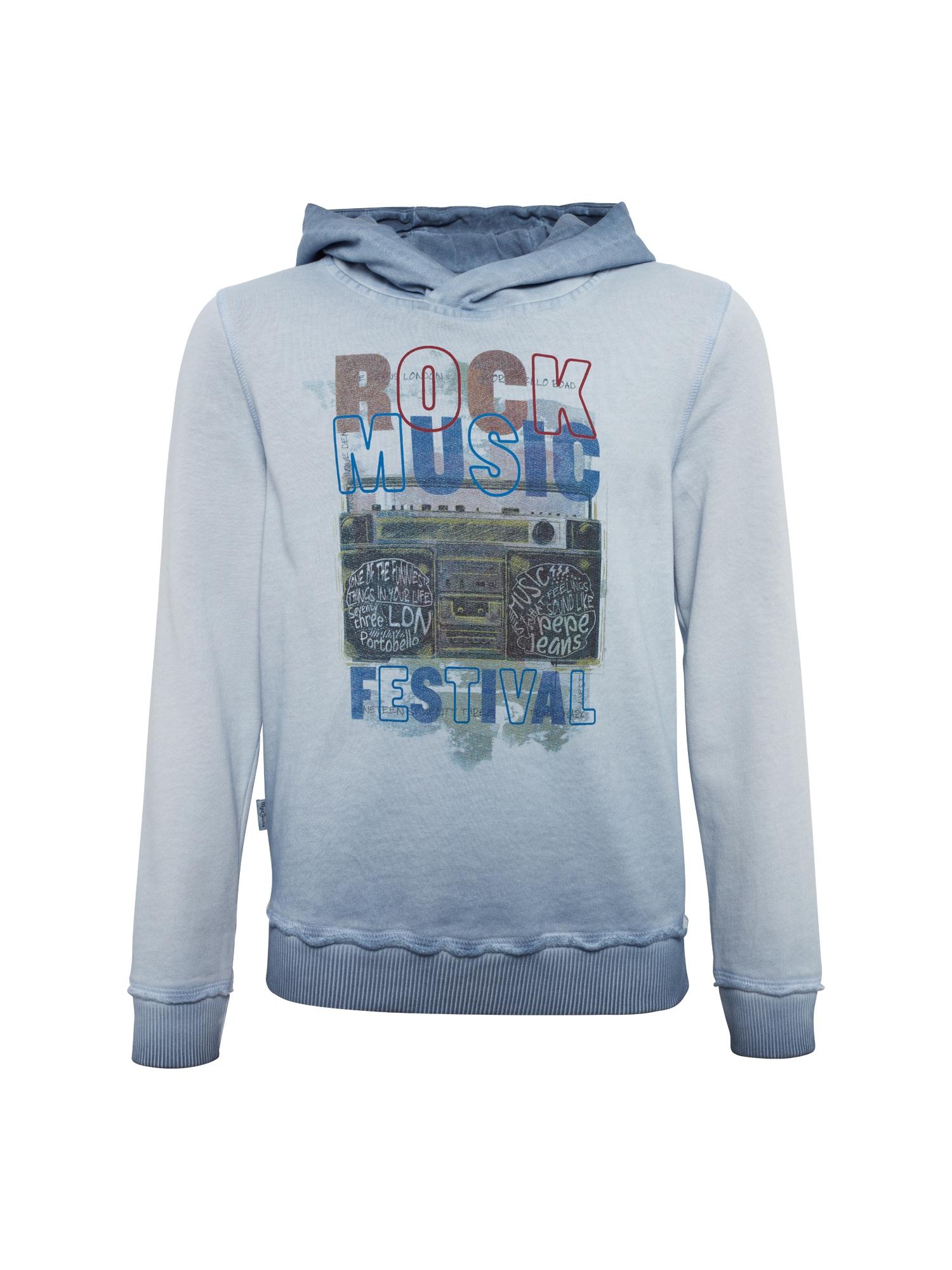 Pepe Jeans Jongens Sweatshirt SEBASTIAN lichtblauw donkerblauw