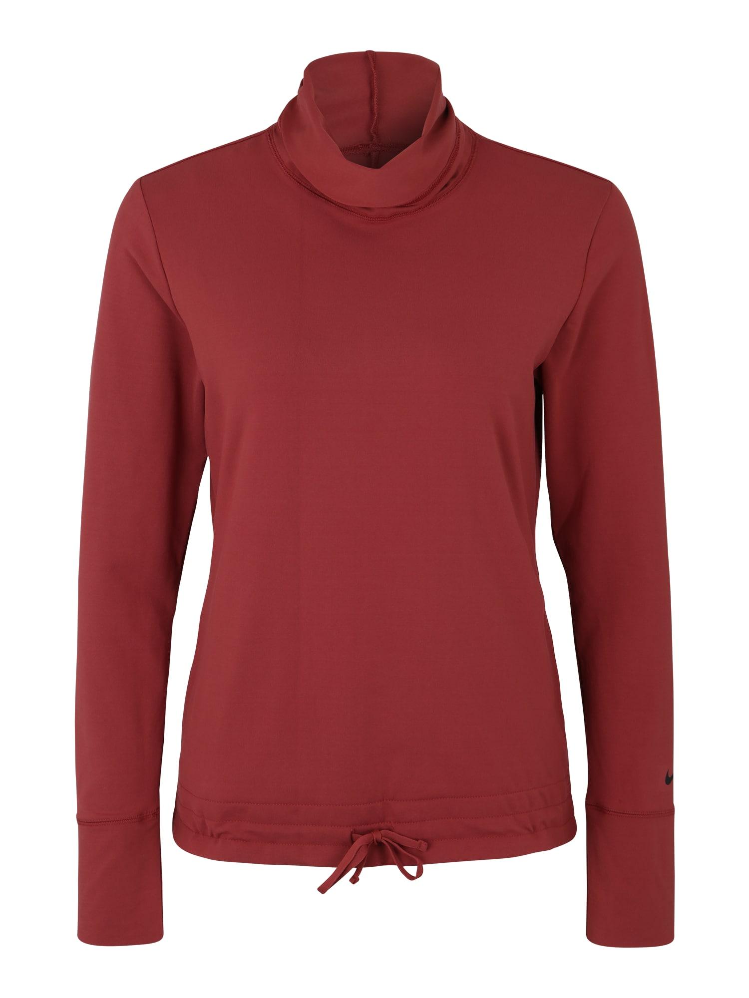 Shirt  'Yoga Funnel Coverup' | Sportbekleidung > Sportshirts > Yogashirts | Nike