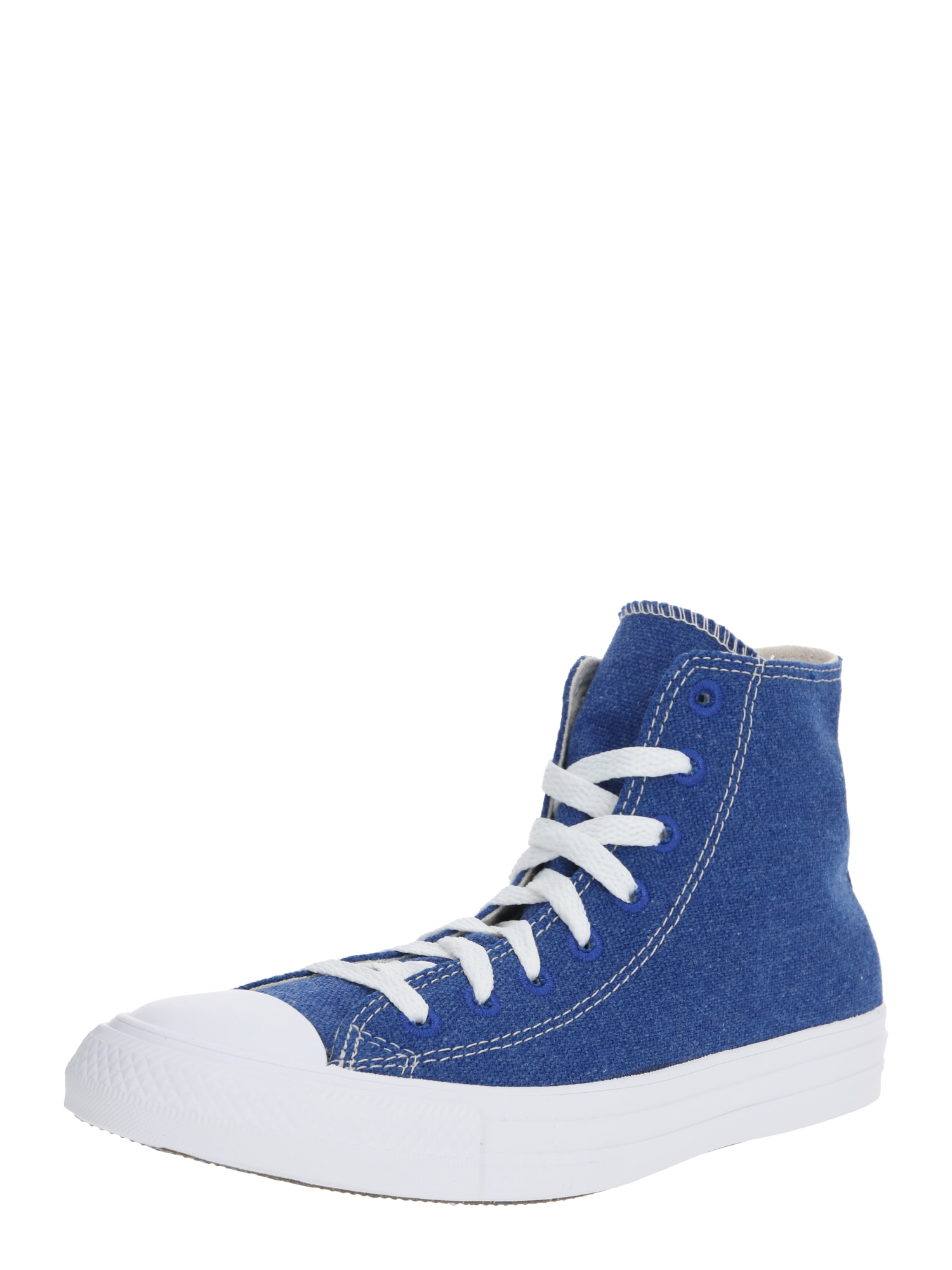CONVERSE Kotníkové tenisky 'CTAS HI'  bílá / modrá
