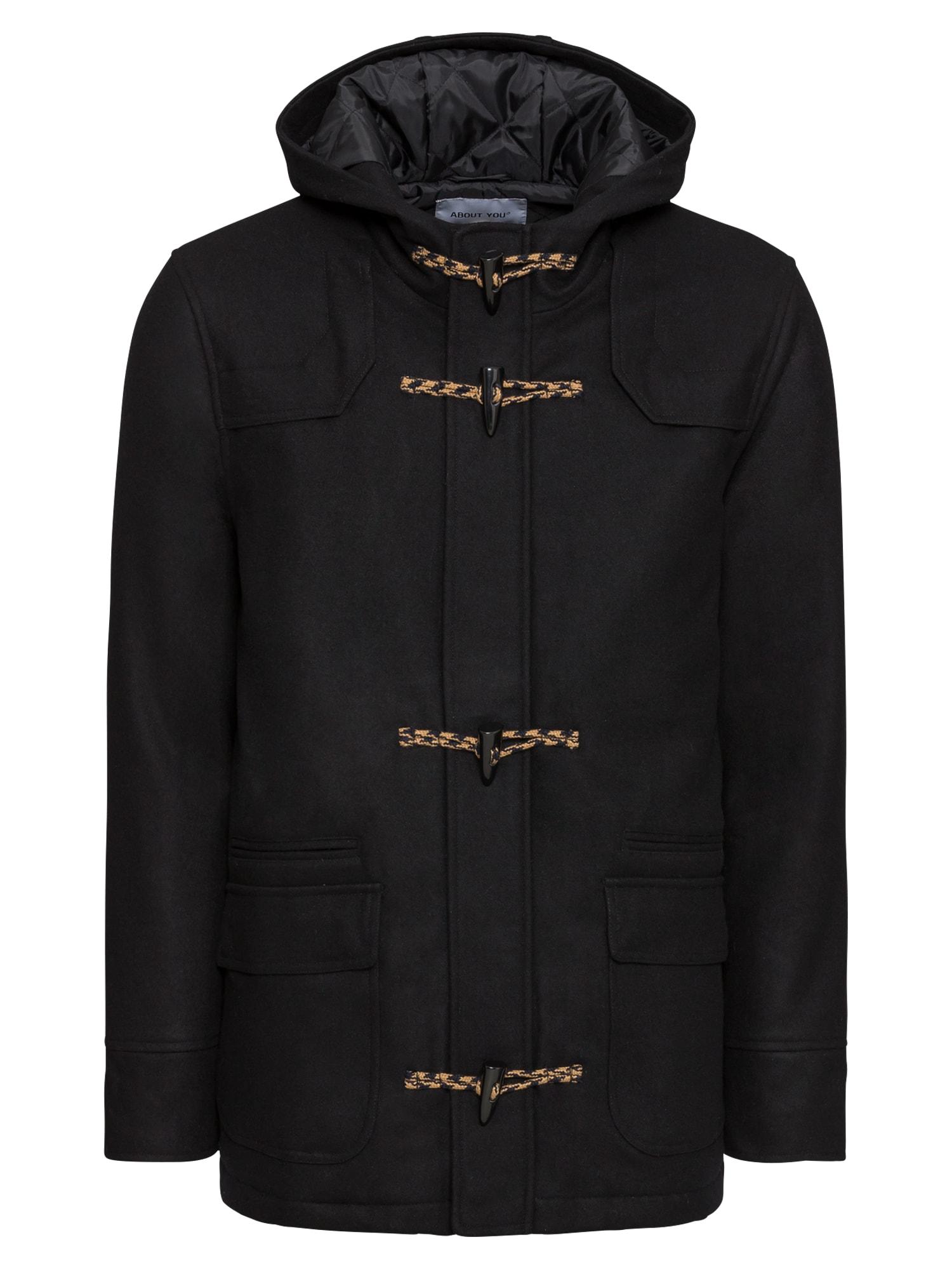 Přechodný kabát Thilo černá ABOUT YOU
