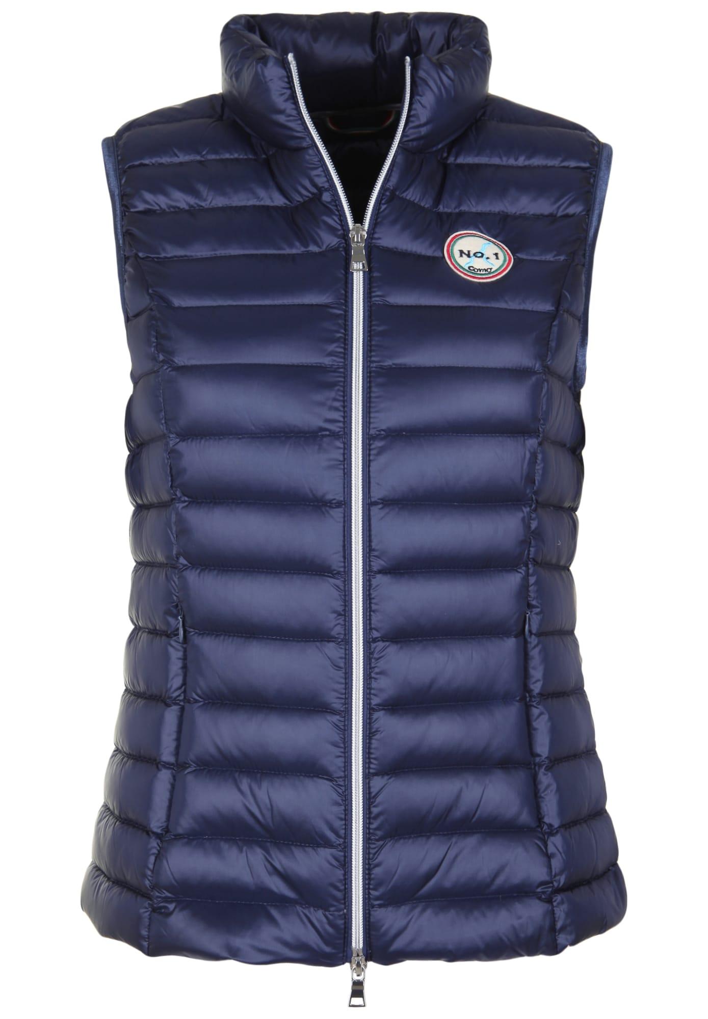 No. 1 Como, Dames Bodywarmer 'CARPI', blauw