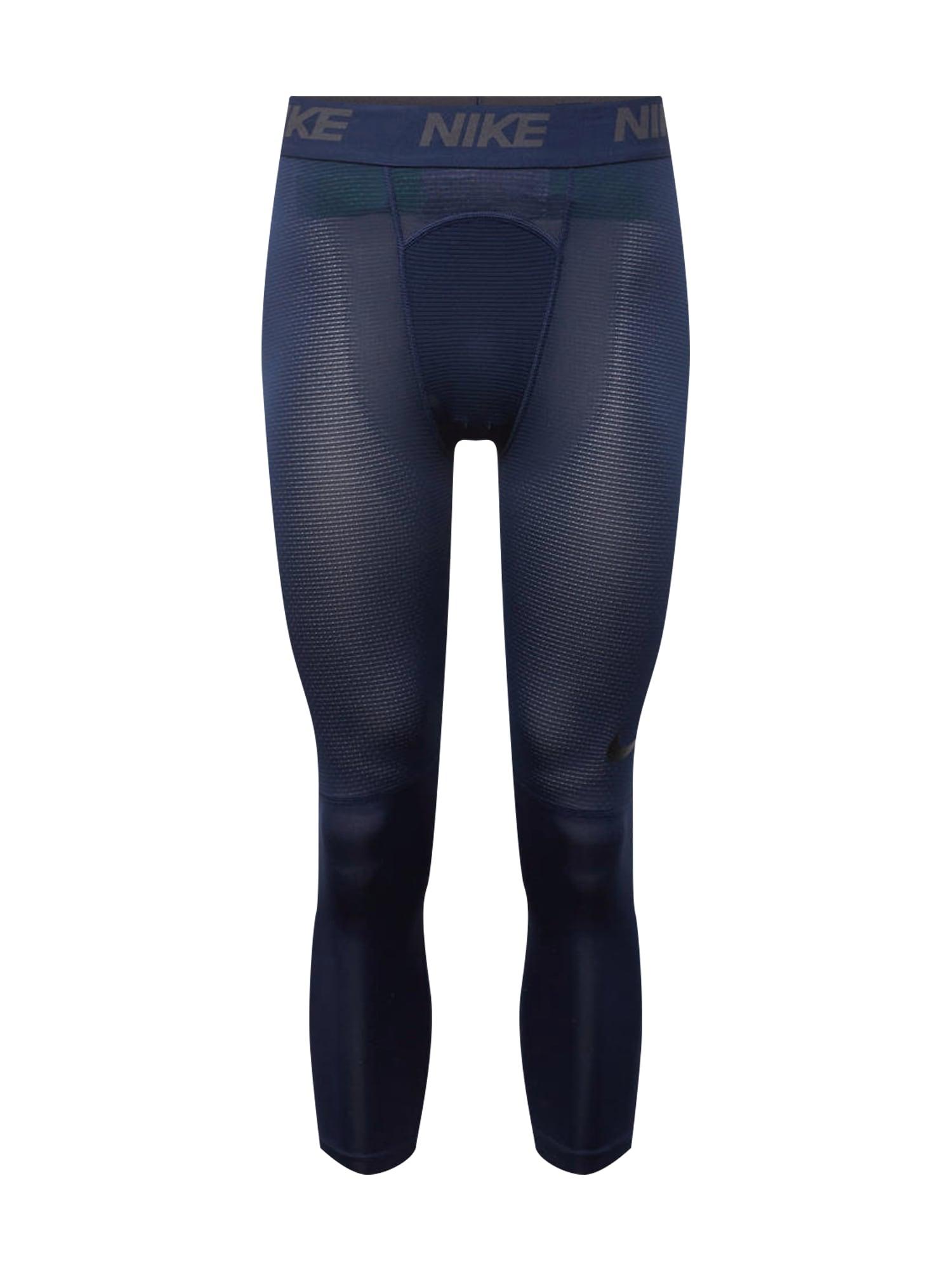 Sportovní kalhoty M NP TGHT 3QT LV tmavě modrá NIKE