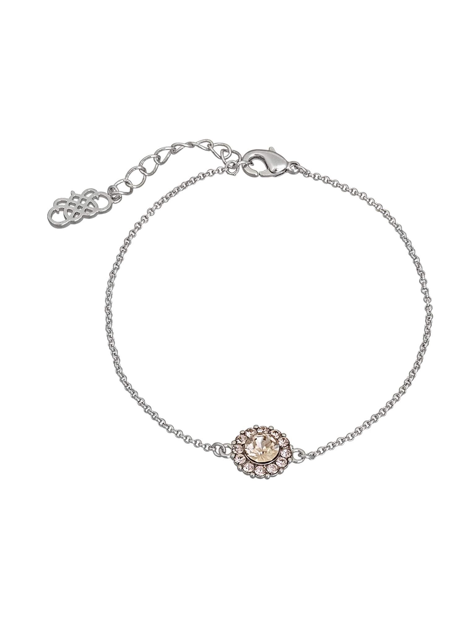 Náramek Celeste růžová stříbrná LILY AND ROSE
