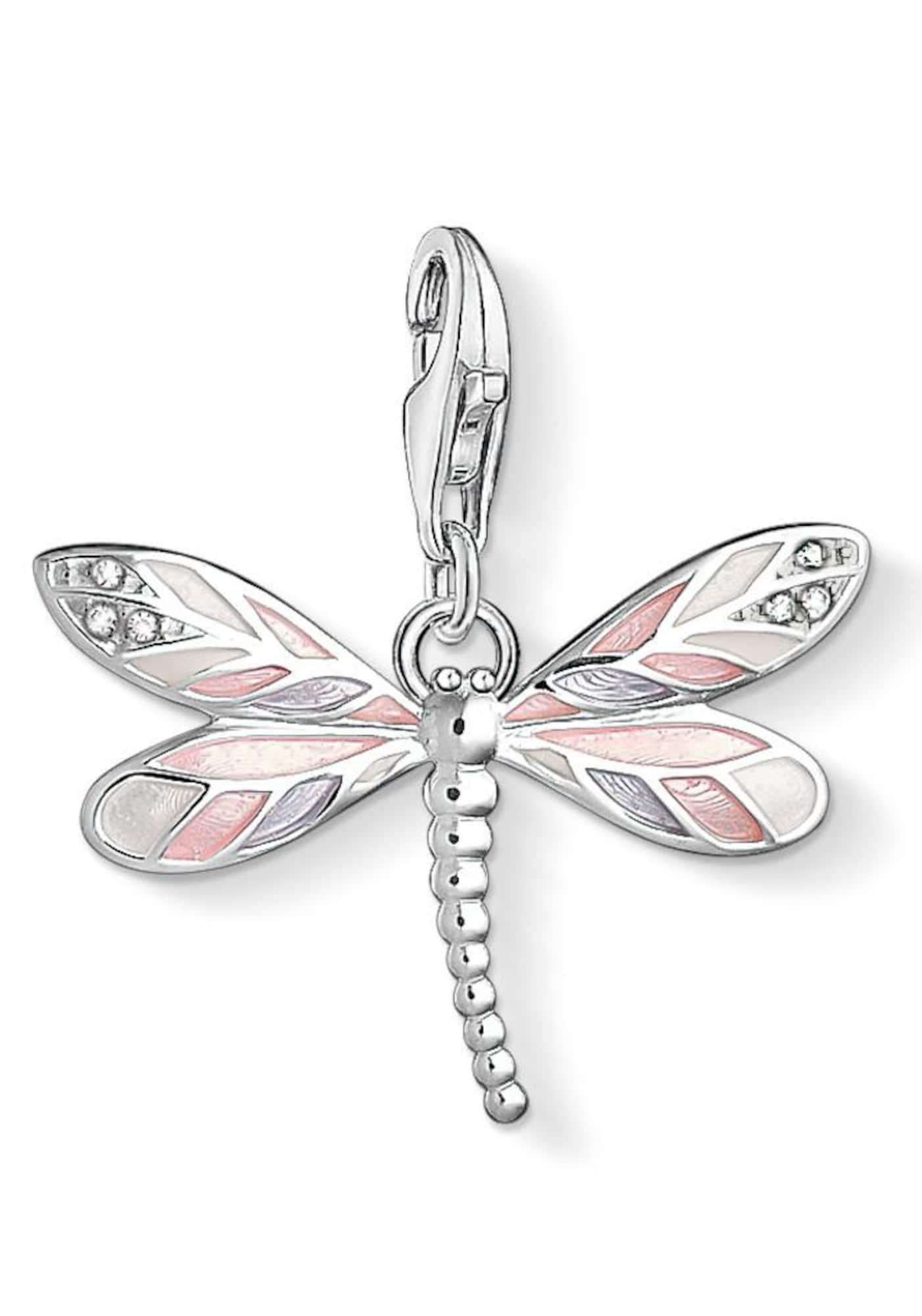 Přívěsek Libelle 1516-041-9 růžová stříbrná Thomas Sabo