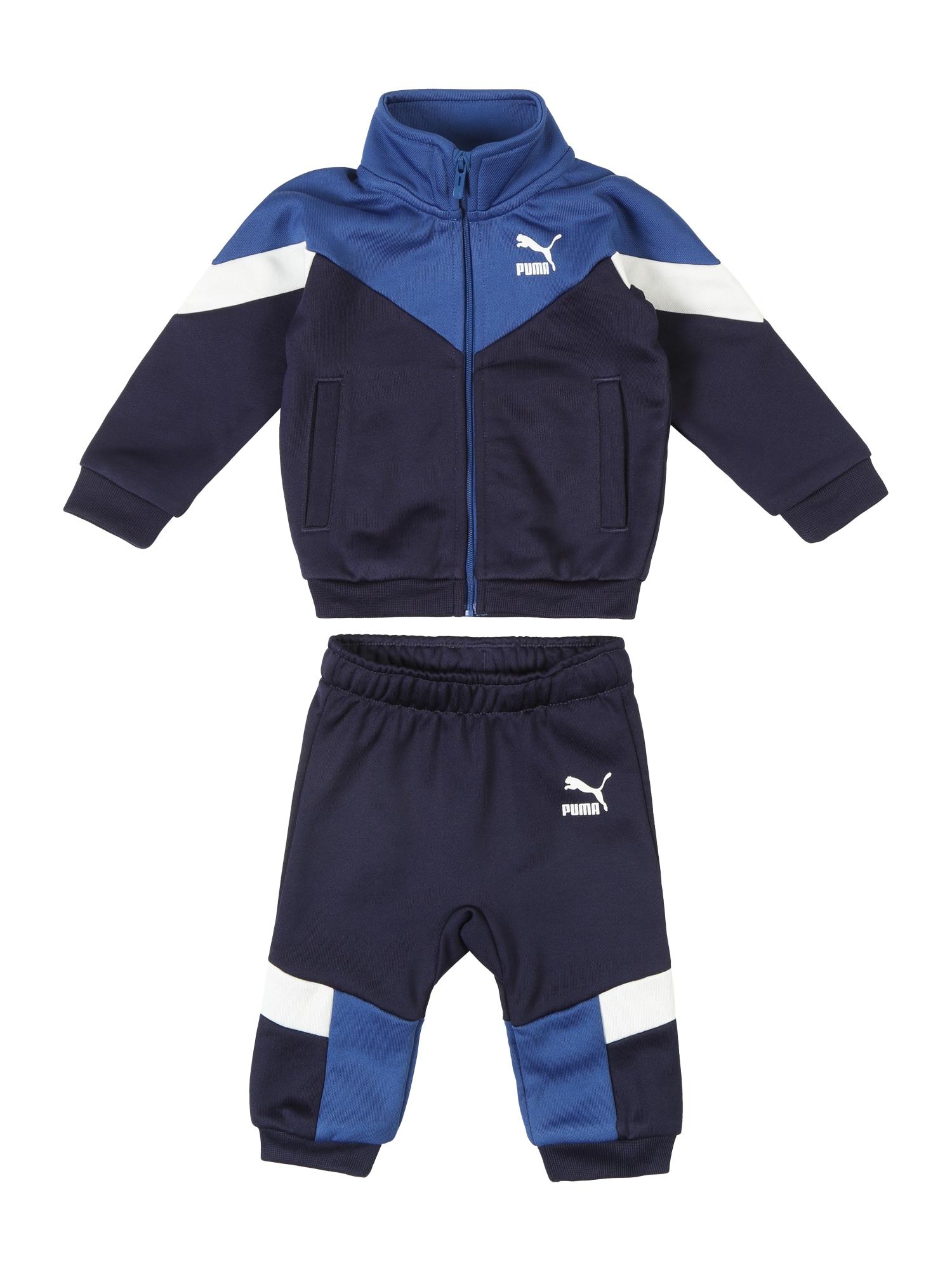 Joggingová souprava Minicats námořnická modř bílá PUMA