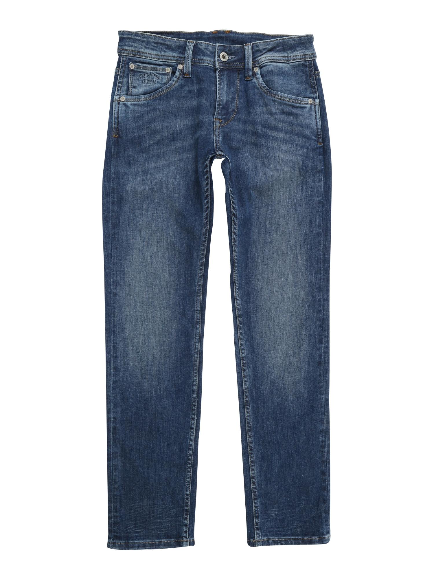 Džíny CASHED modrá džínovina Pepe Jeans