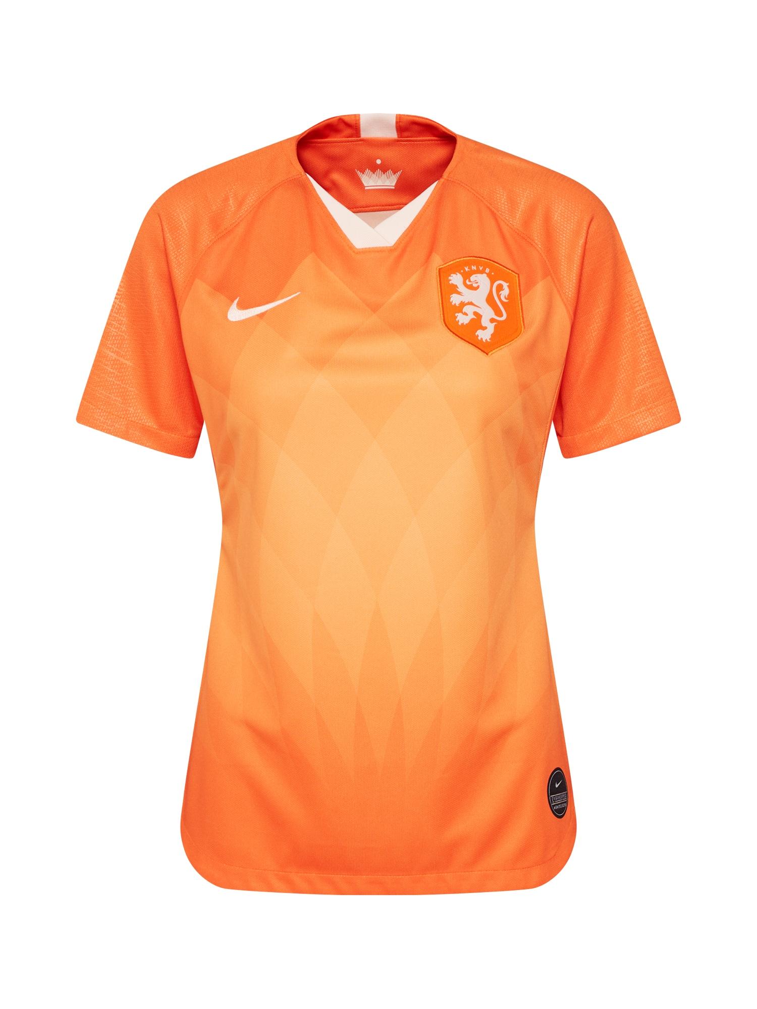 Trikot oranžová bílá NIKE