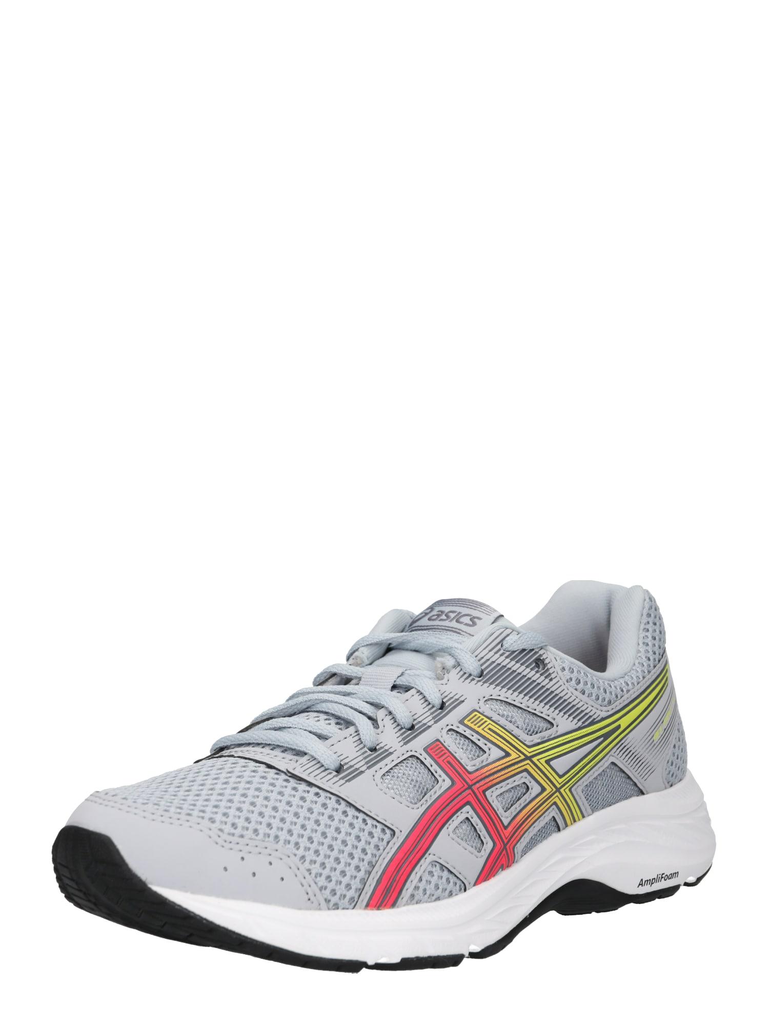 Běžecká obuv Gel-Contend 5 žlutá šedá pink ASICS