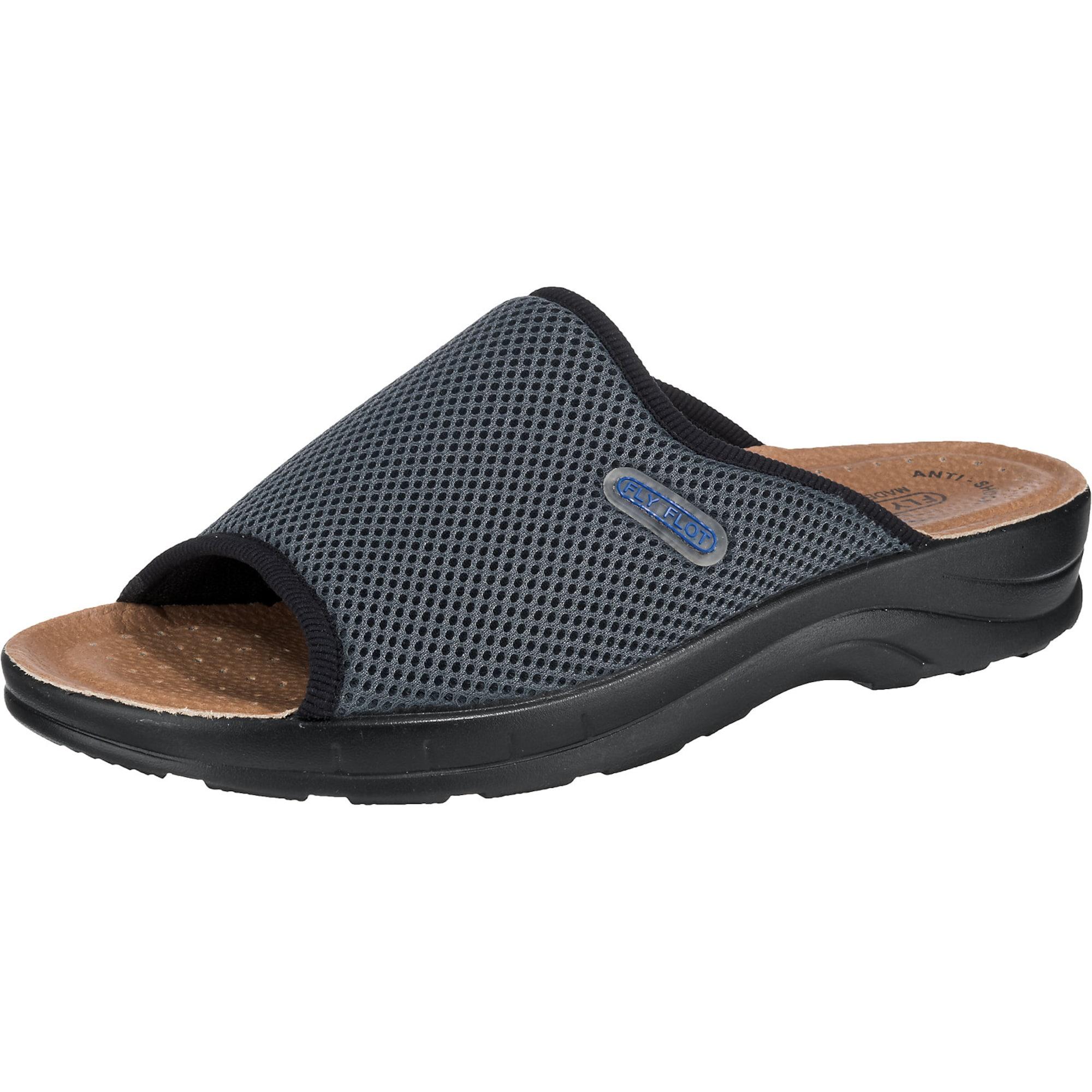 Pantoletten | Schuhe > Clogs & Pantoletten | Dunkelgrau | FLY FLOT
