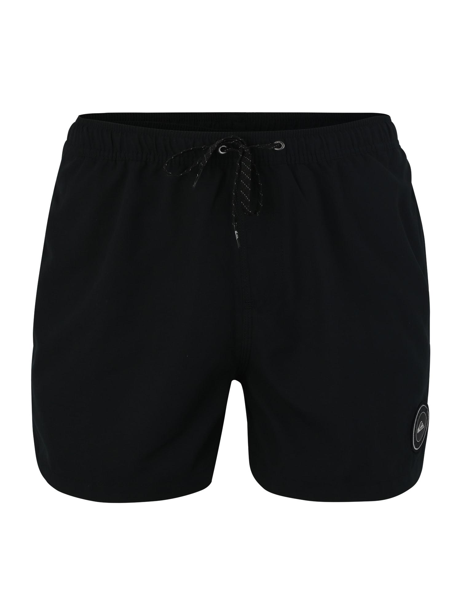 Plavecké šortky Everyday 15 Volley černá QUIKSILVER