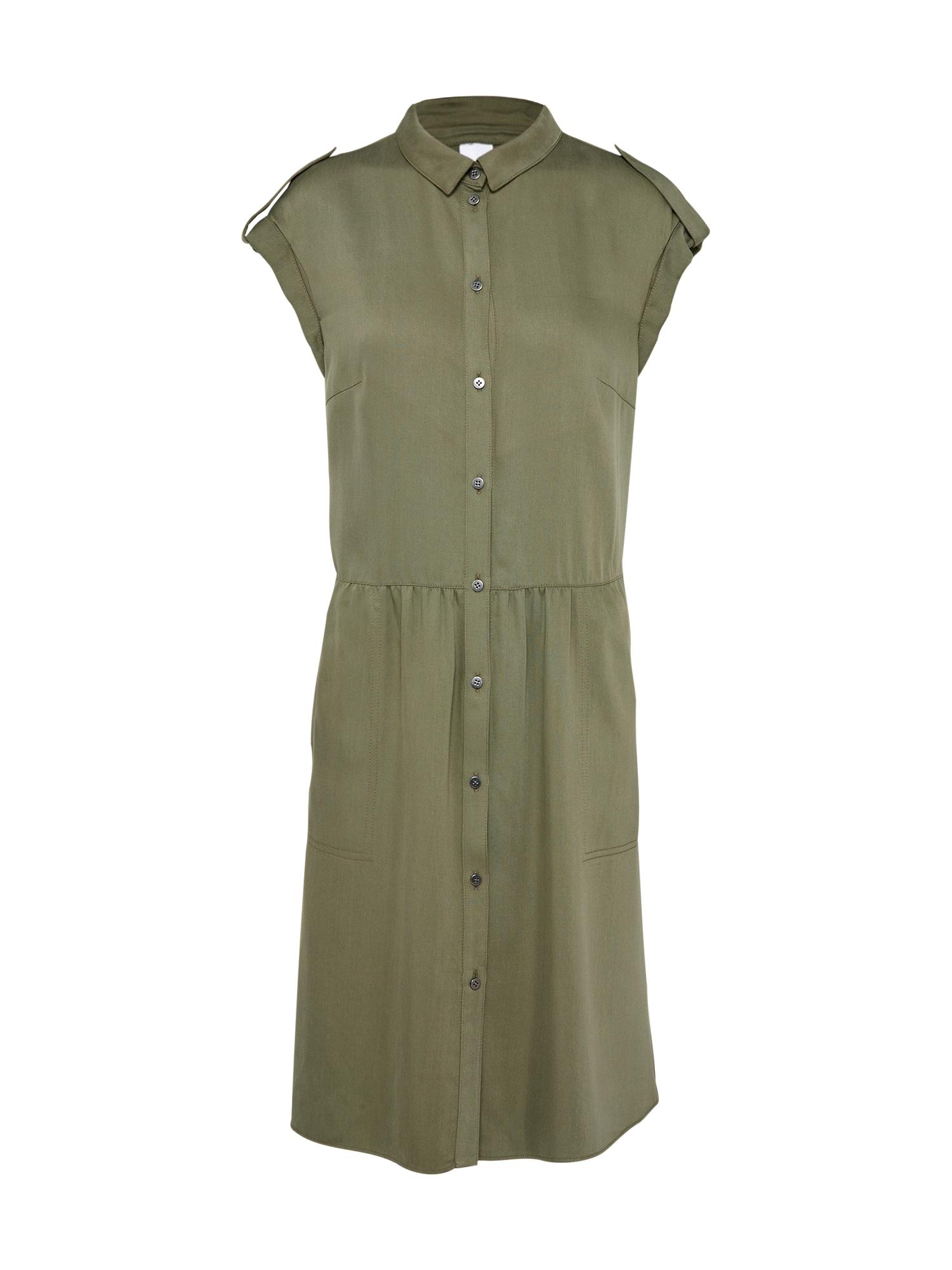 Košilové šaty Amilly khaki BOSS