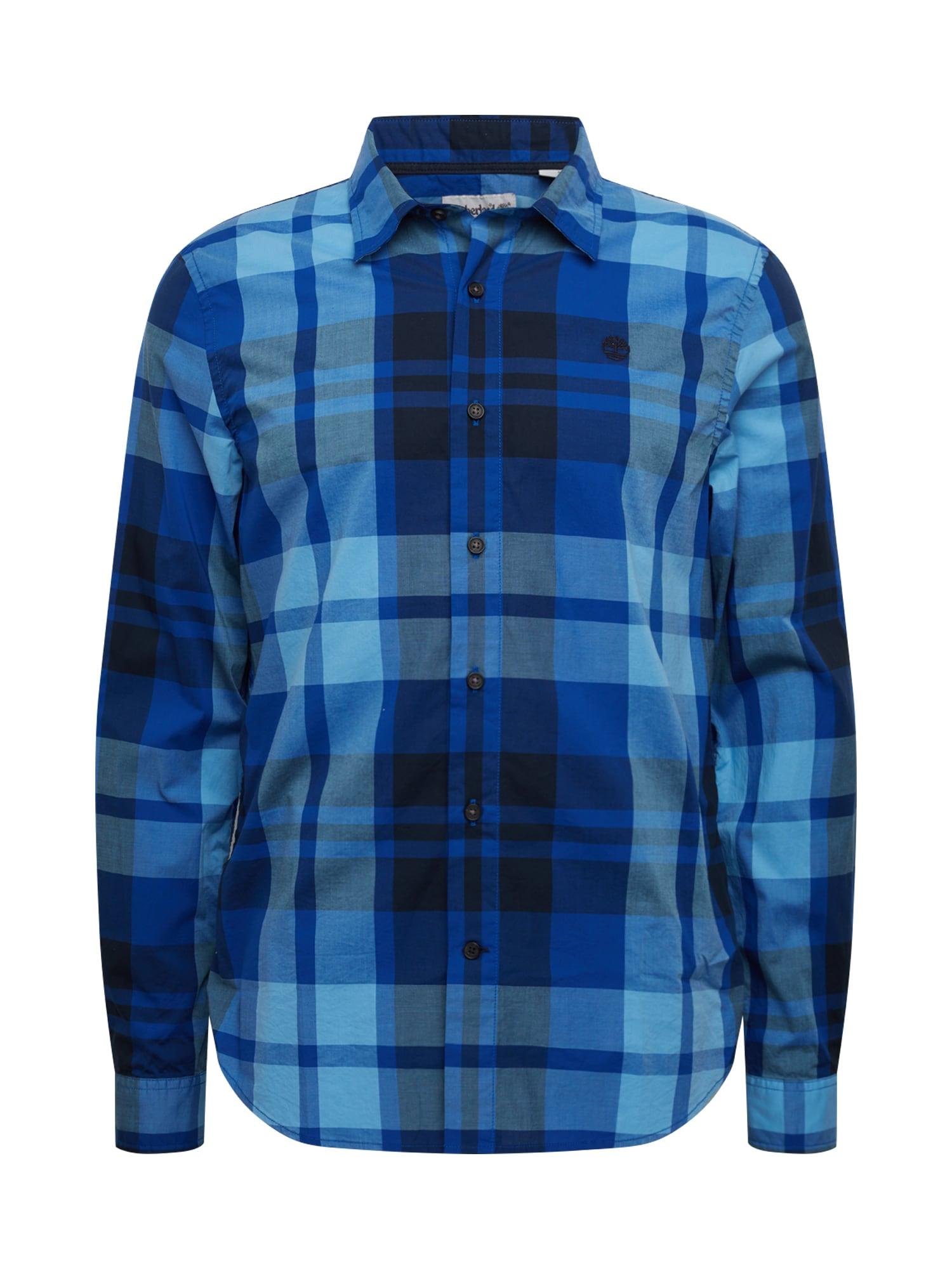 TIMBERLAND Košile 'E-R LS Plaid SF'  modrá