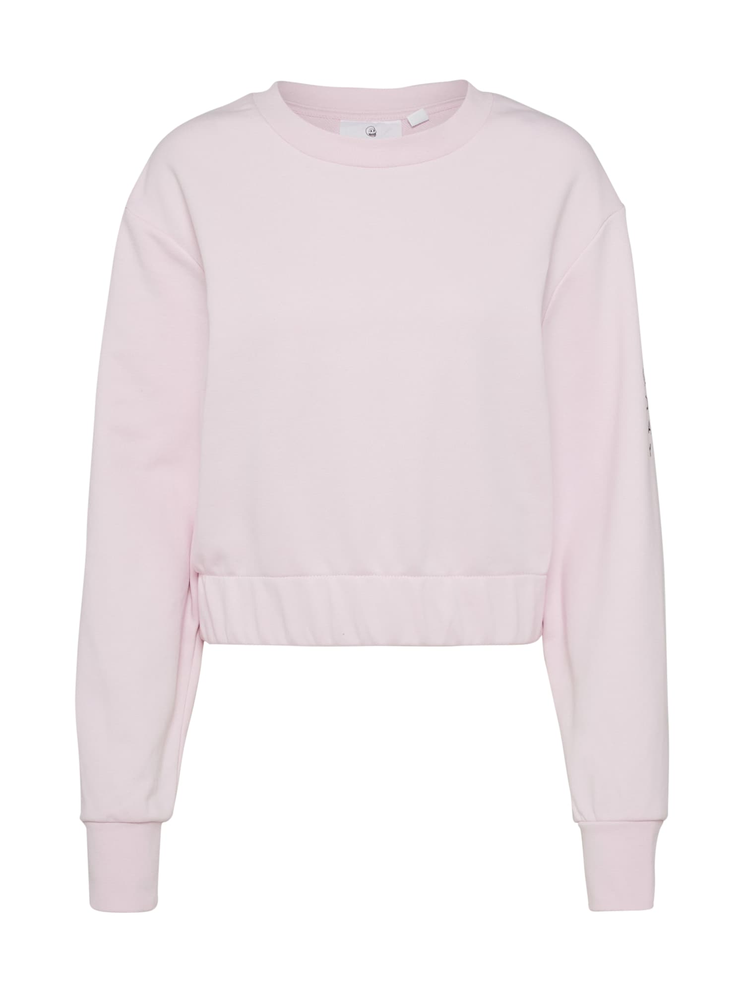 CHEAP MONDAY Dames Sweatshirt Mirror rosa
