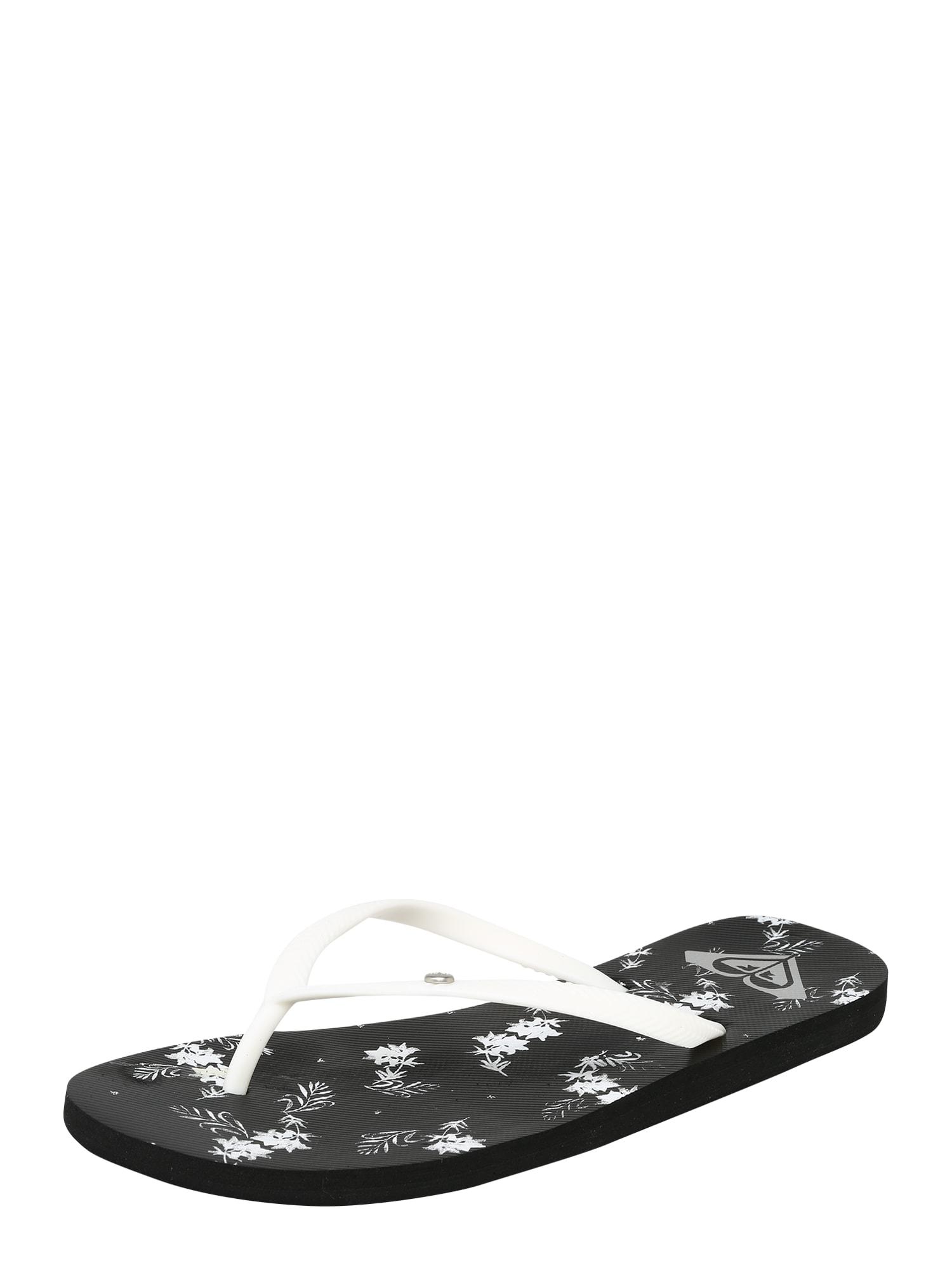 Plážovákoupací obuv BERMUDA II J SNDL černá bílá ROXY