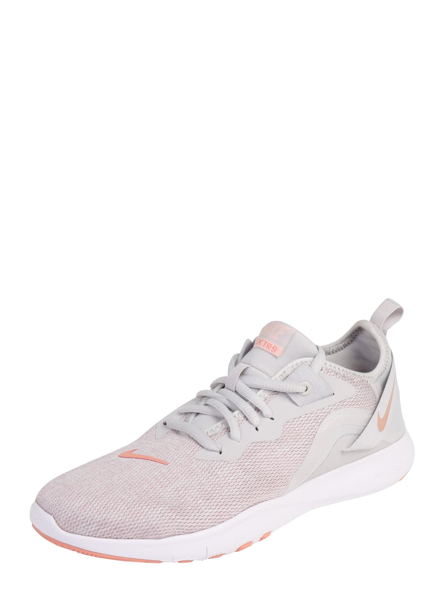 Sportovní boty Nike Flex TR 9 světle šedá NIKE