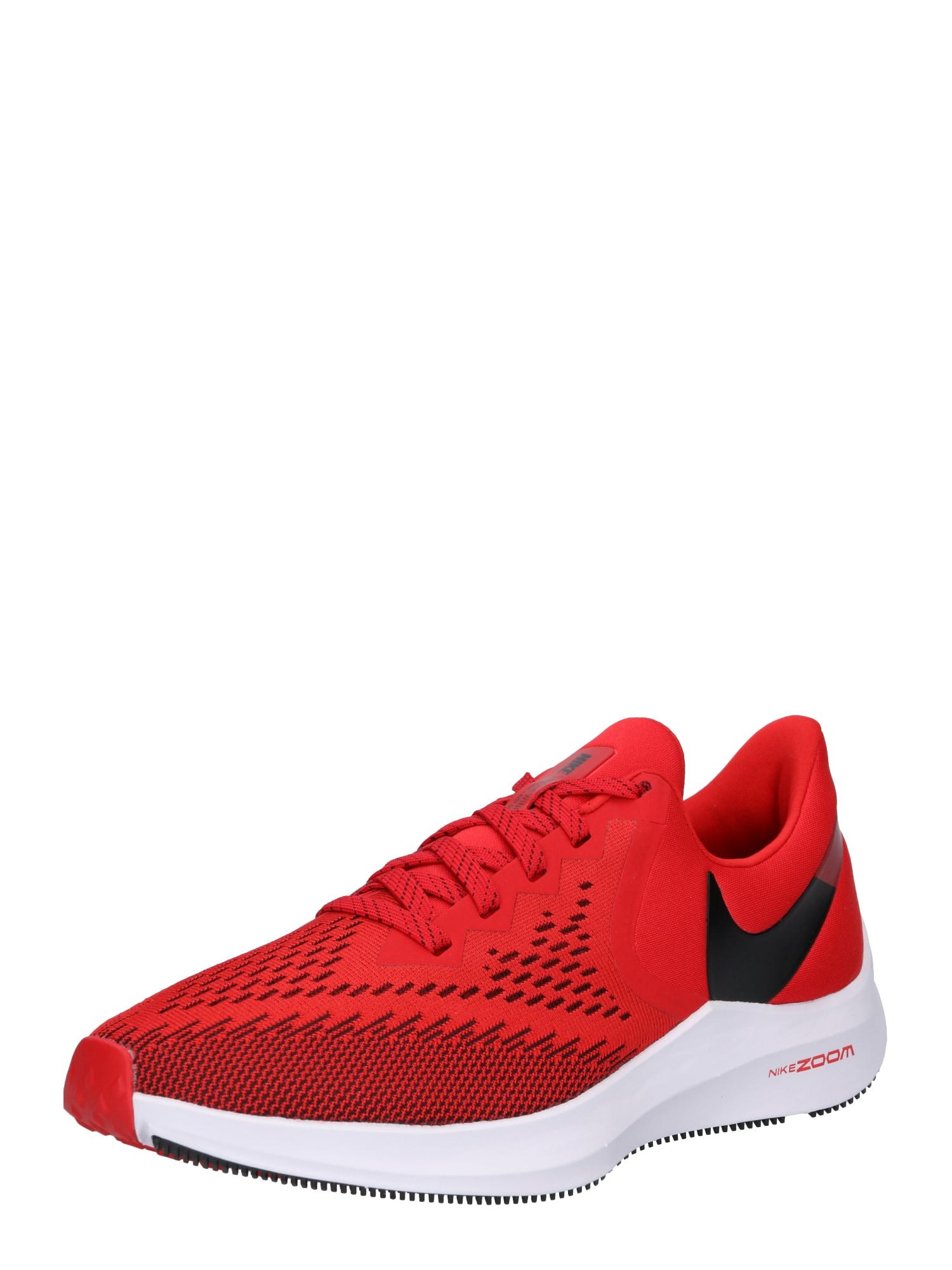 Běžecká obuv Nike Air Zoom Winflo 6 červená černá NIKE
