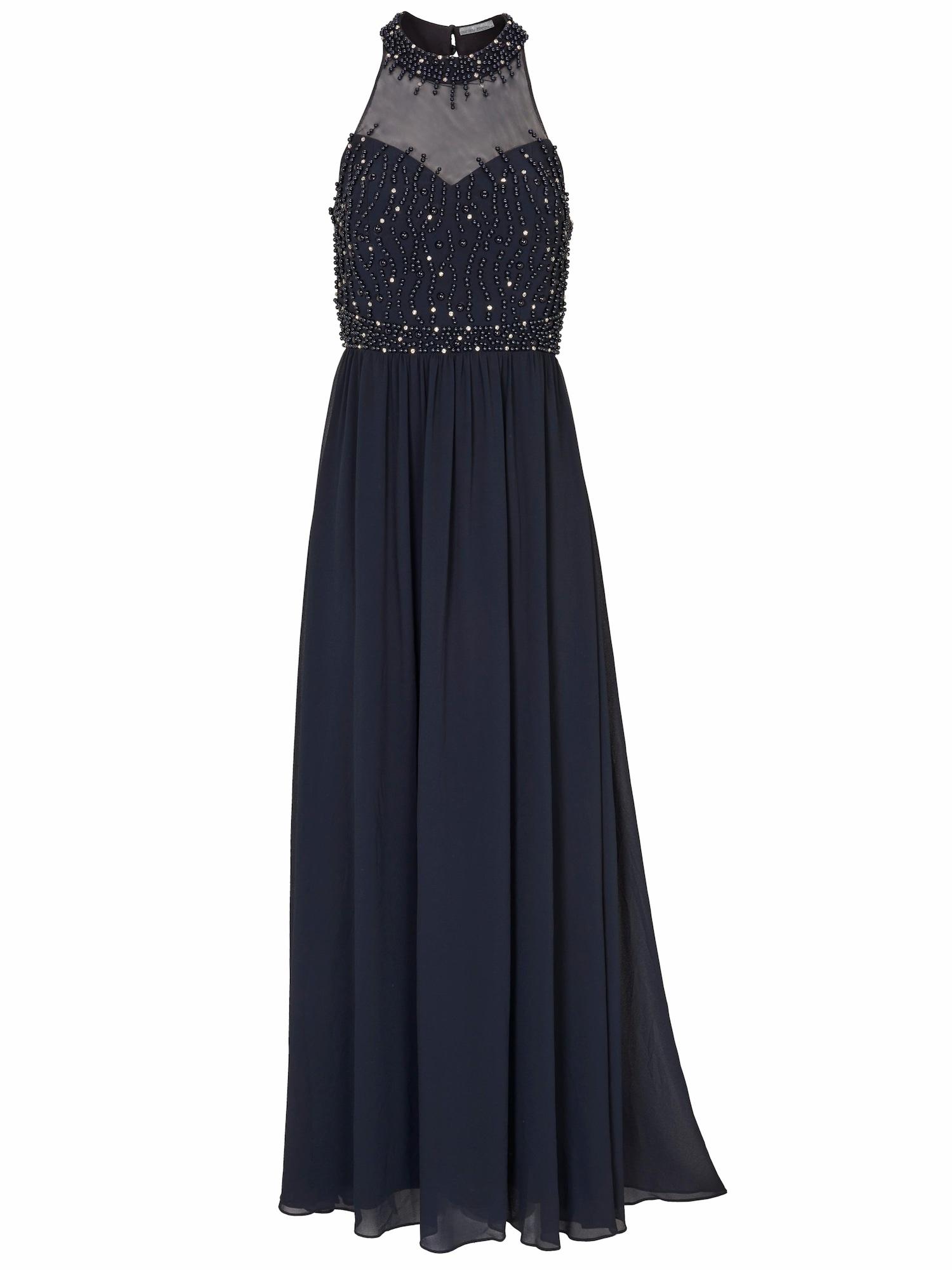 Společenské šaty modrá Heine