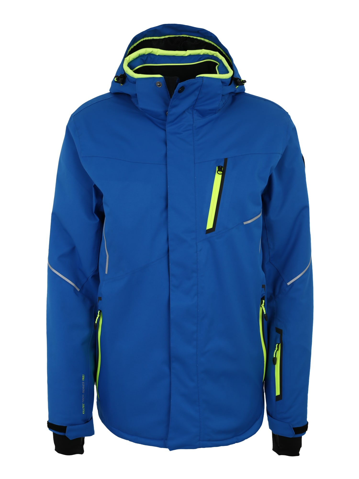 Outdoorová bunda Zoron modrá žlutá KILLTEC