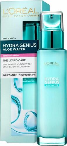 ´Hydra Genius Aloe Aqua Feuchtigkeitsfluid´, Gesichtspflege für sensible Haut