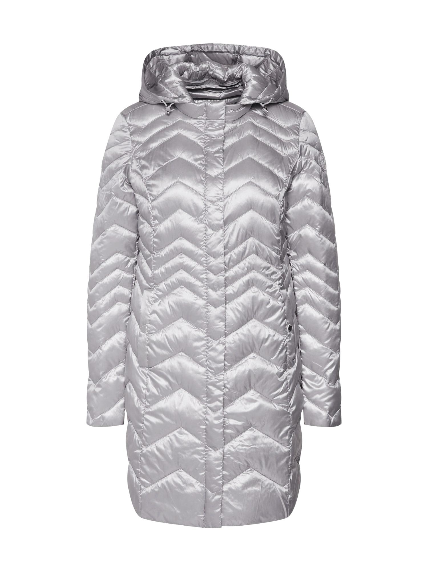 Zimní kabát stříbrná S.Oliver RED LABEL