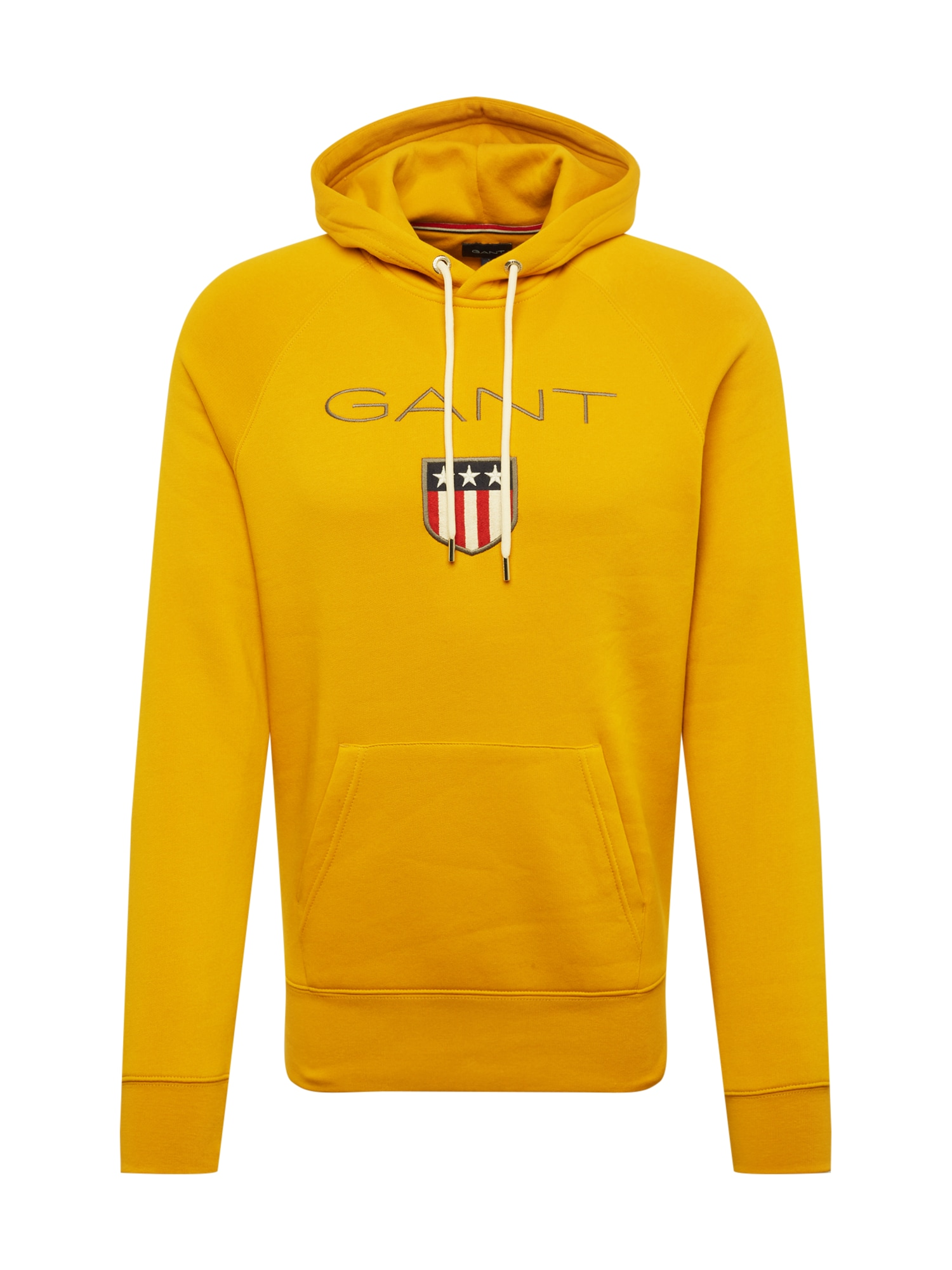 Mikina zlatě žlutá GANT
