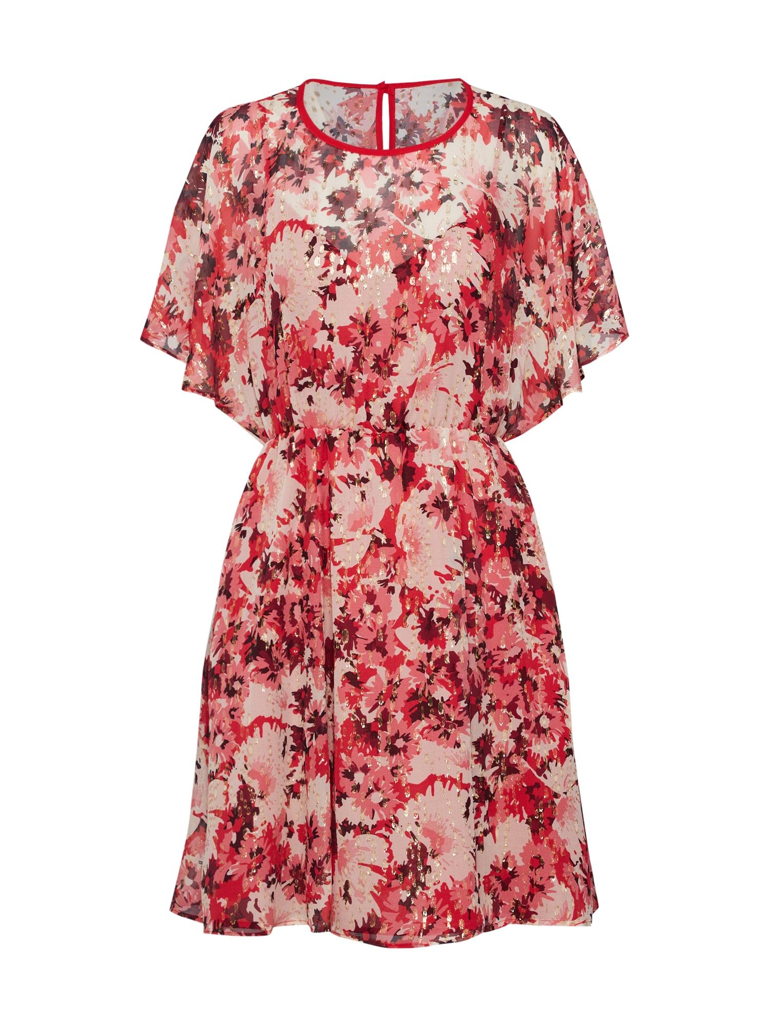 Šaty PENNA růžová bílá MAX&Co.