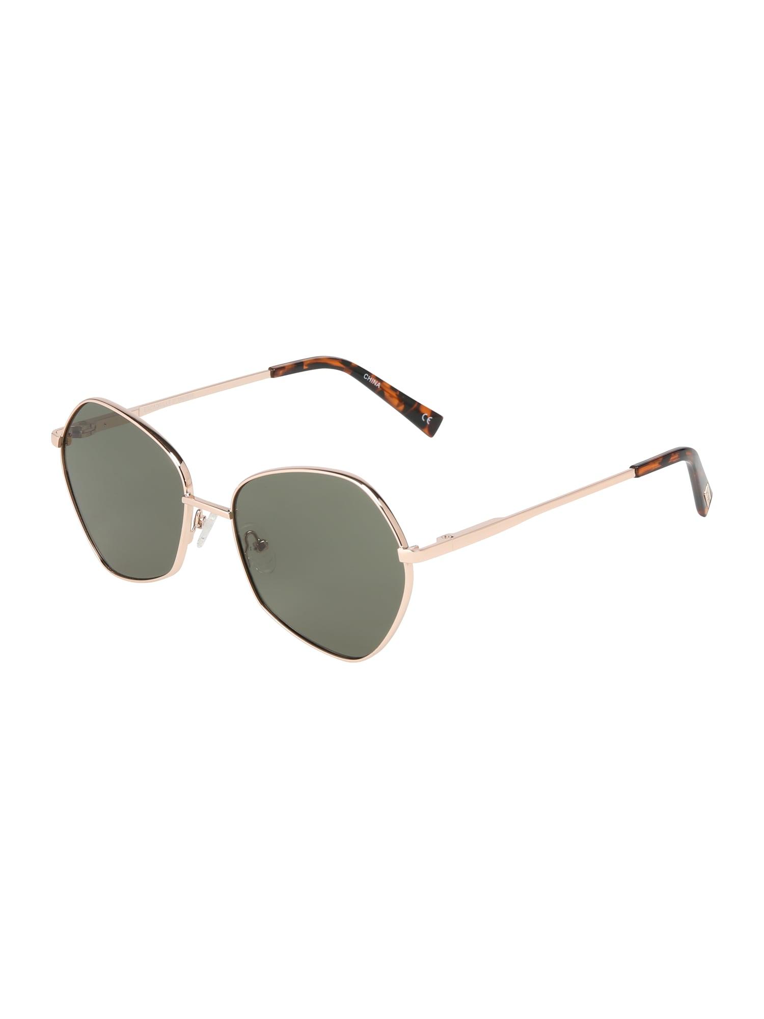 Sluneční brýle ESCADRILLE zlatá khaki LE SPECS
