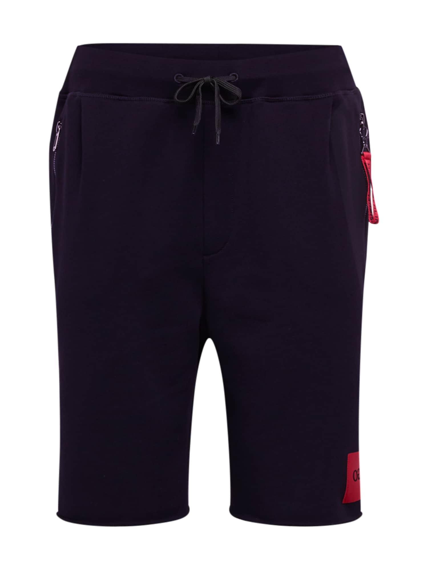 HUGO Kalhoty 'Dactus'  černá