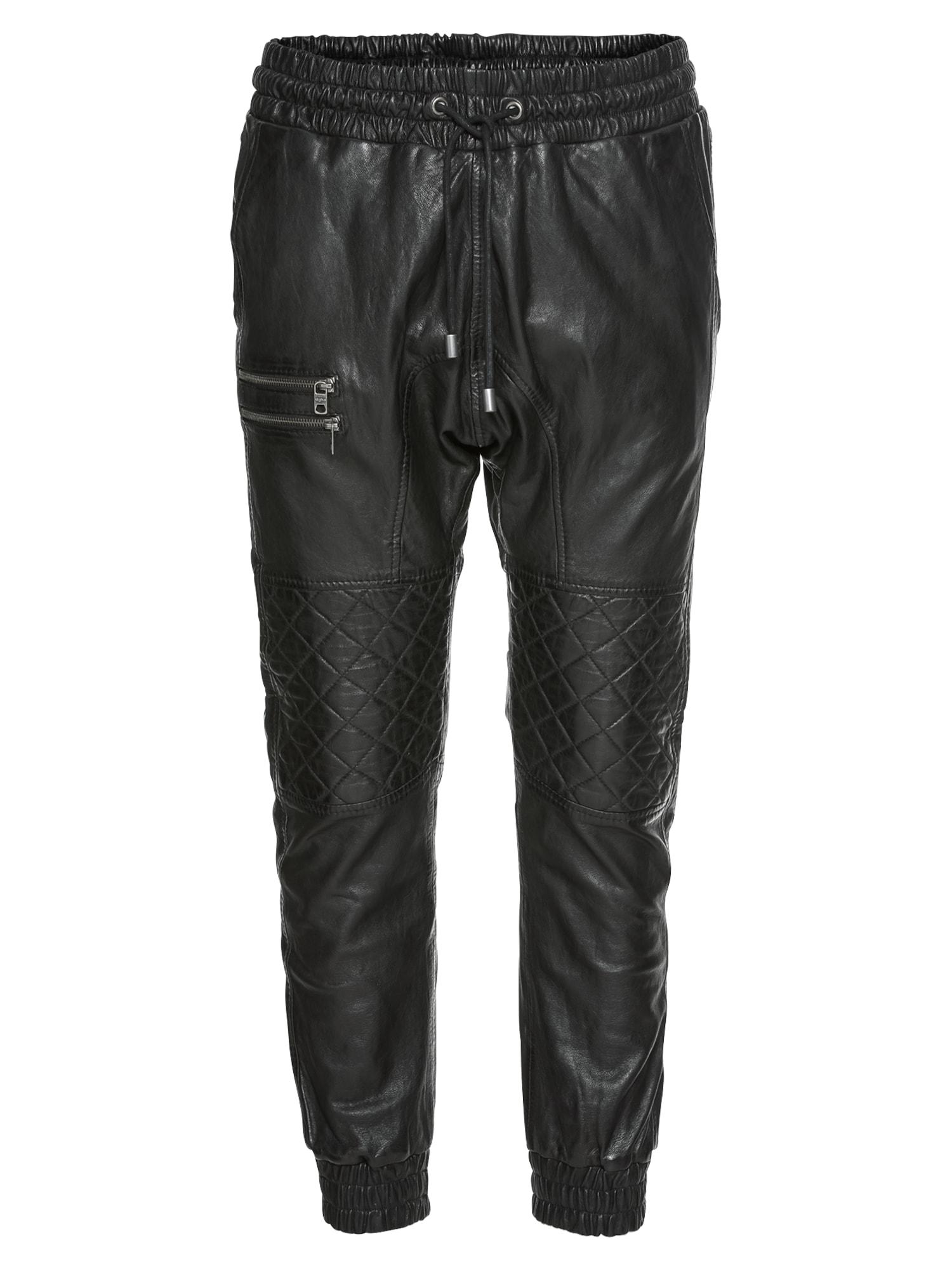 Kalhoty Marios černá Tigha