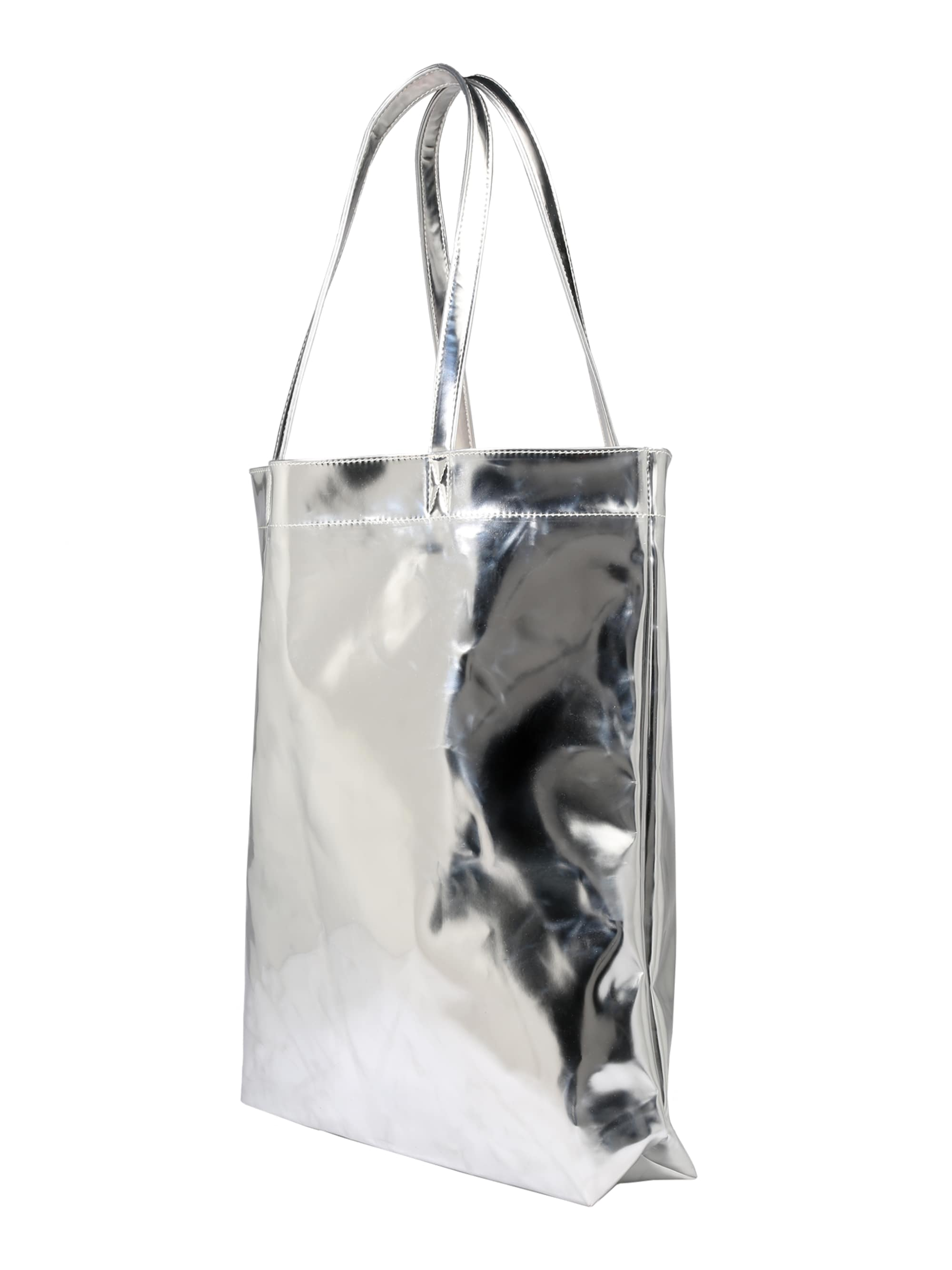 ONLY Torba shopper 'onlPISKA METALLIC'  srebrny