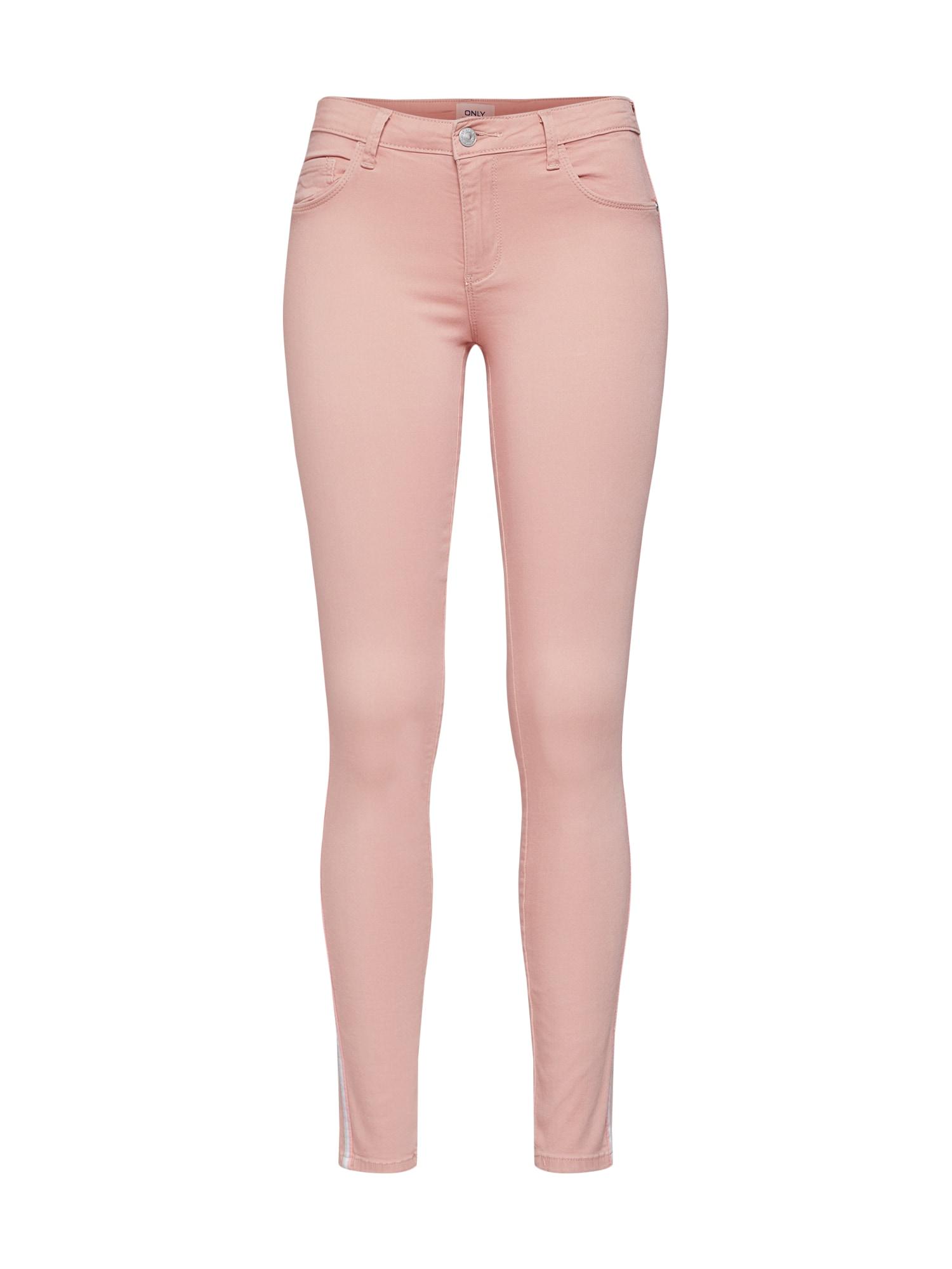 Kalhoty onlRAIN REG SK růžová ONLY