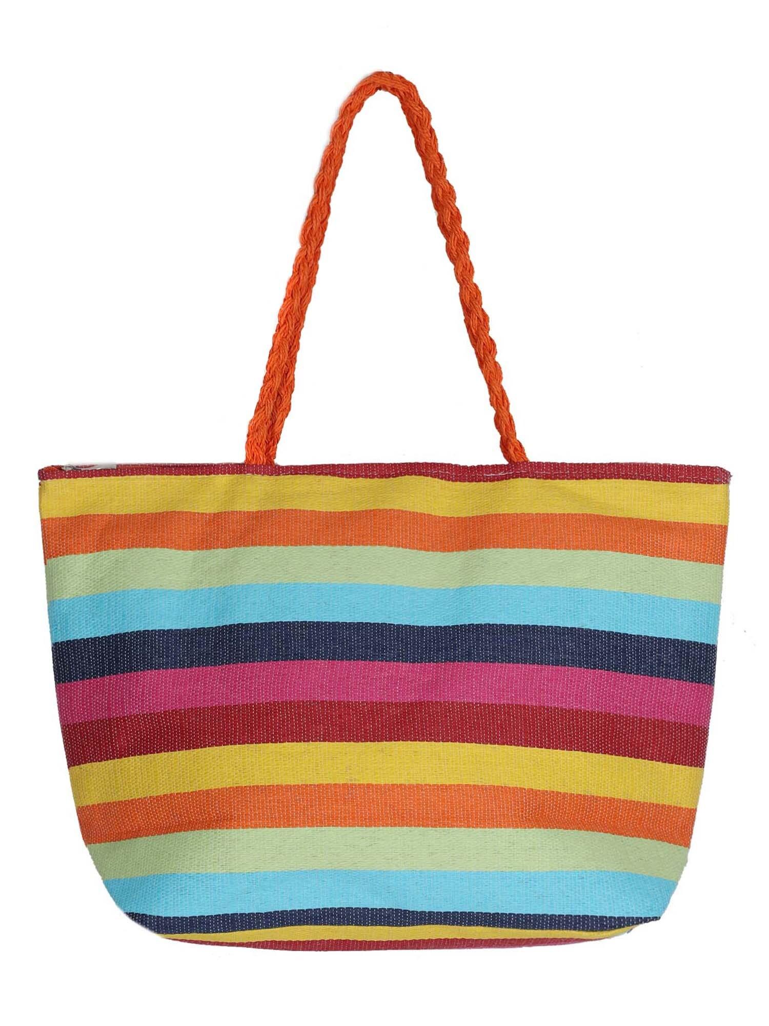 Plážová taška Patricia mix barev ABOUT YOU
