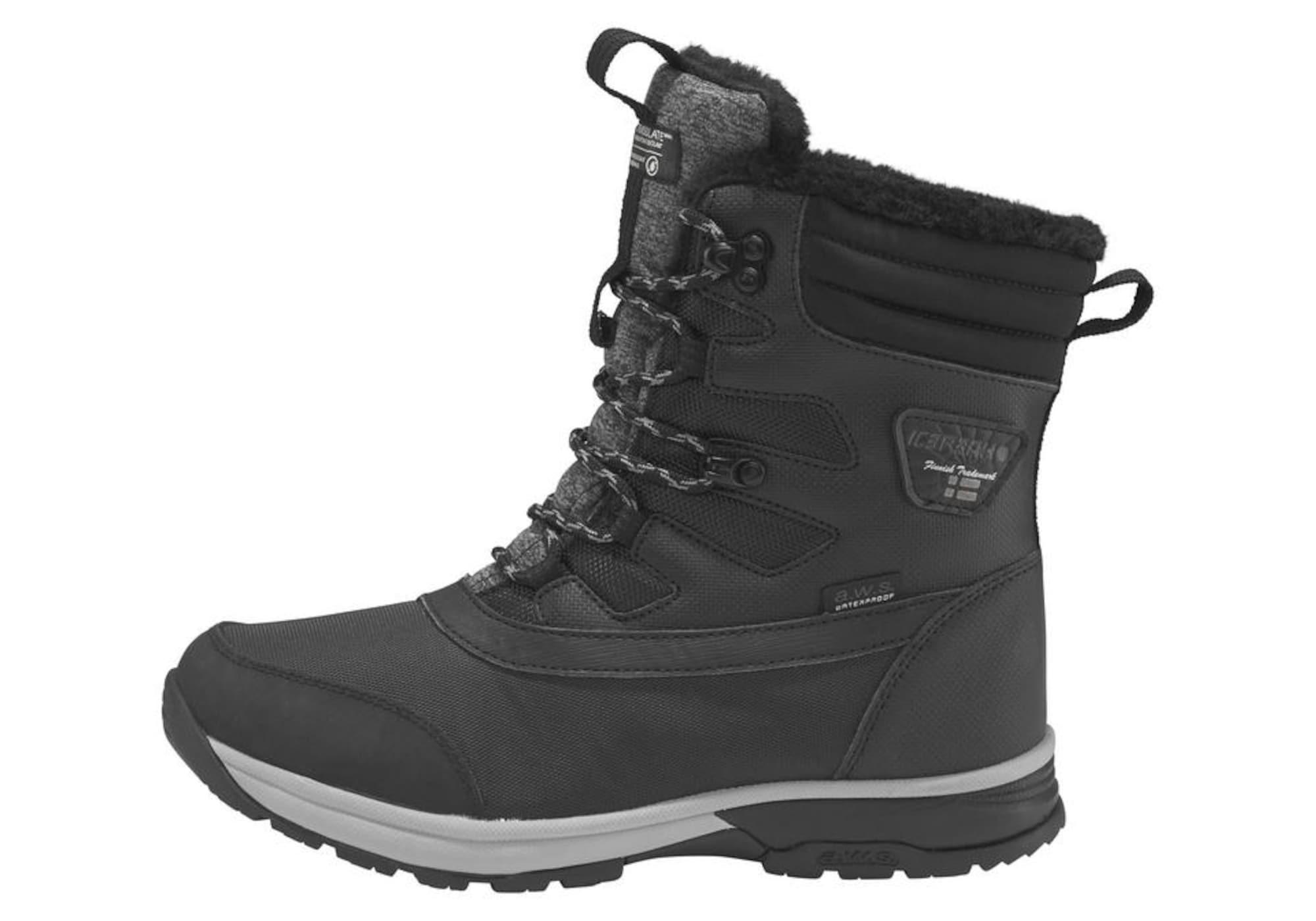 Outdoorwinterstiefel 'Welsie W' | Schuhe > Outdoorschuhe > Outdoorwinterstiefel | Schwarz | icepeak