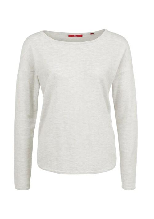 Pullover mit modischem Schnitt