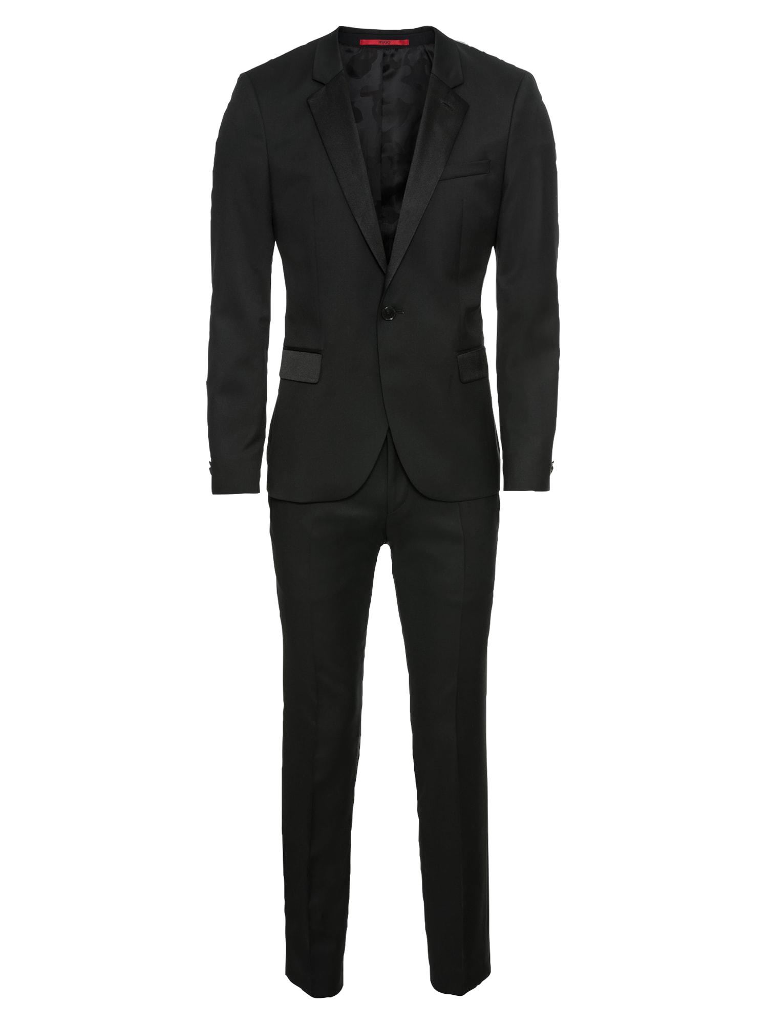 Oblek ArtiHesten184E1 10199142 0 černá HUGO