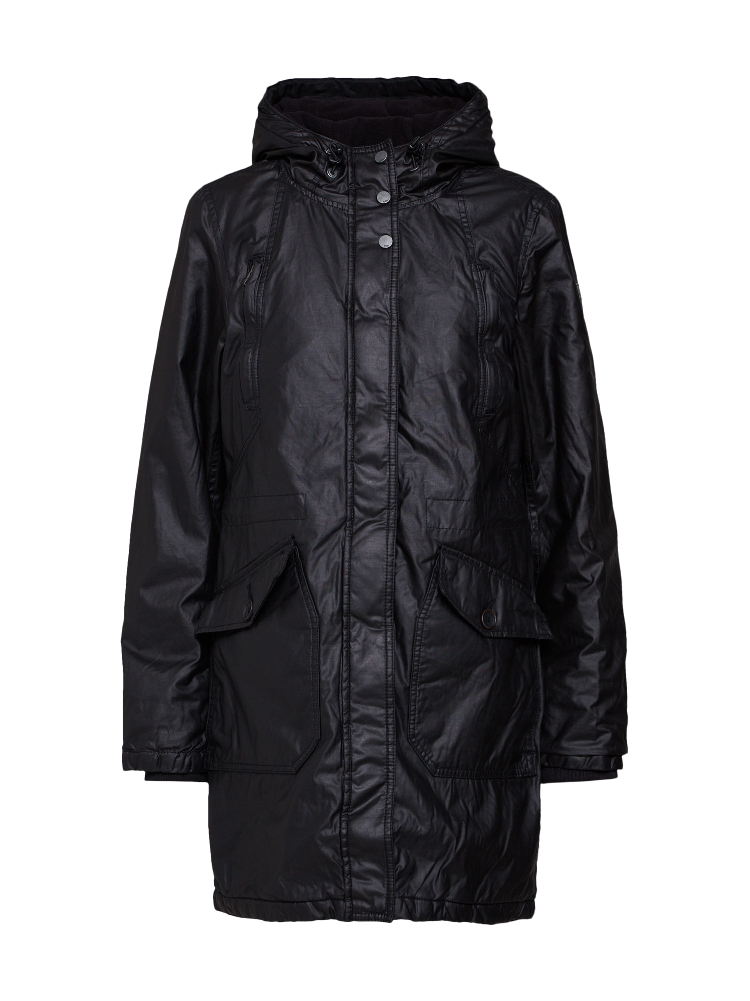 QS Designed By Přechodný kabát černá Q/S Designed By