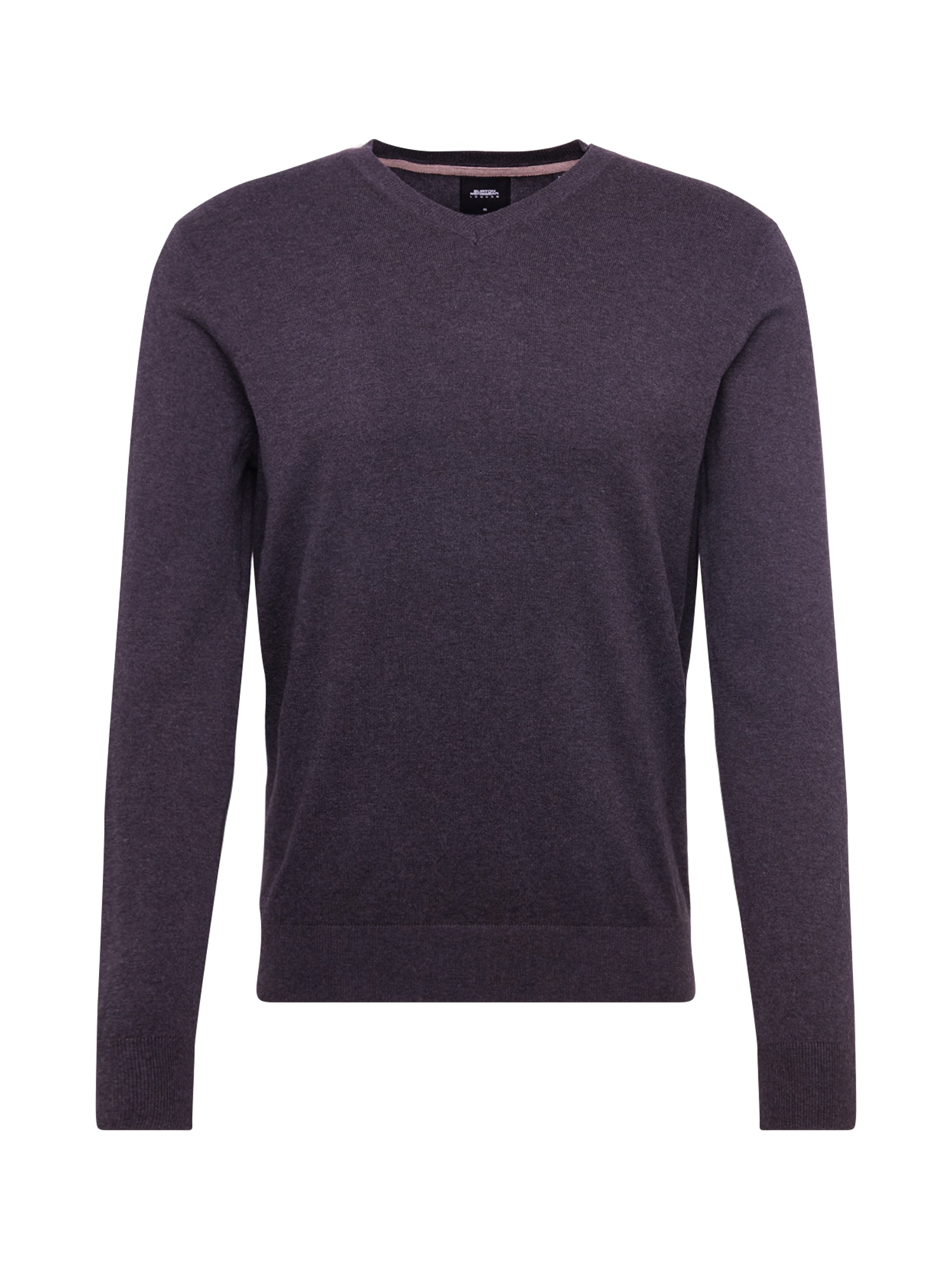 BURTON MENSWEAR LONDON Svetr 'core vee charcoal'  šedá